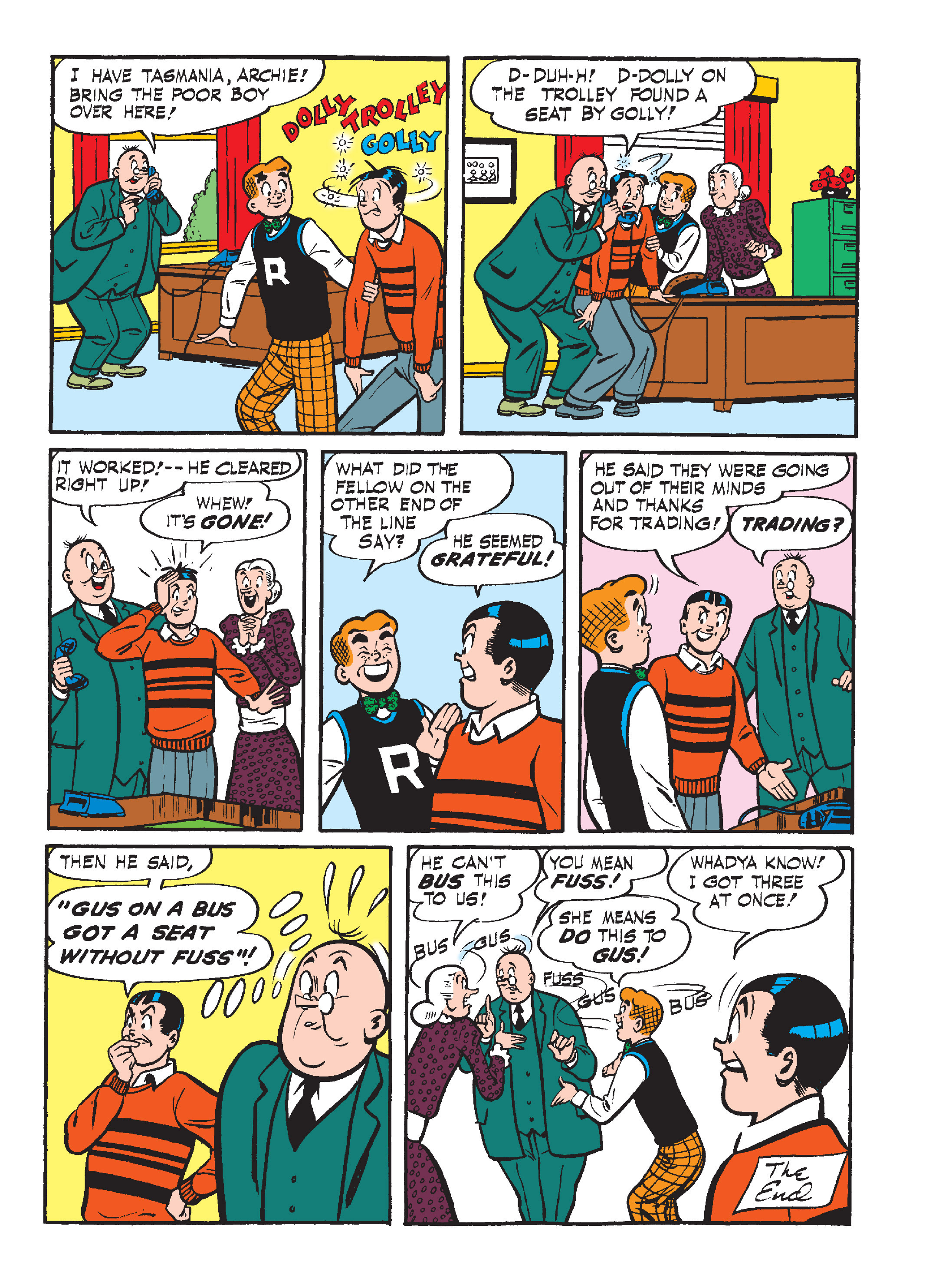 Read online Archie's Funhouse Double Digest comic -  Issue #15 - 153