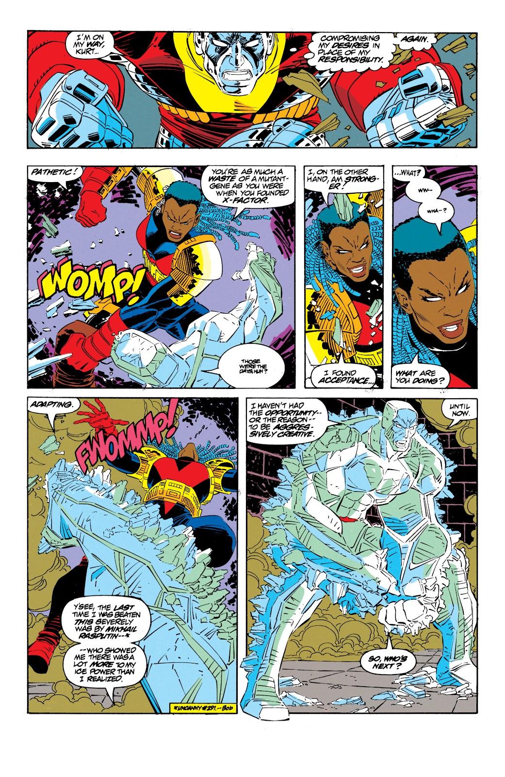Uncanny X-Men (1963) issue 300 - Page 35