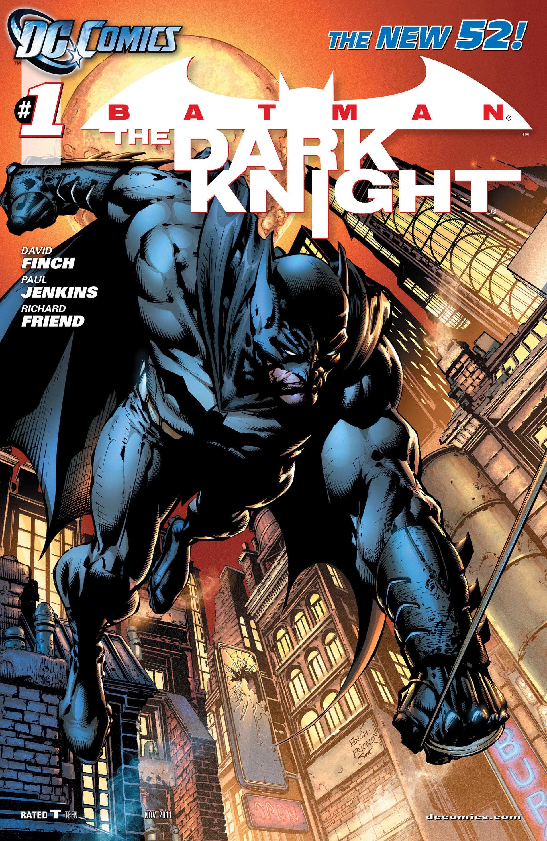 Batman: The Dark Knight [II] (2011) 1 Page 1