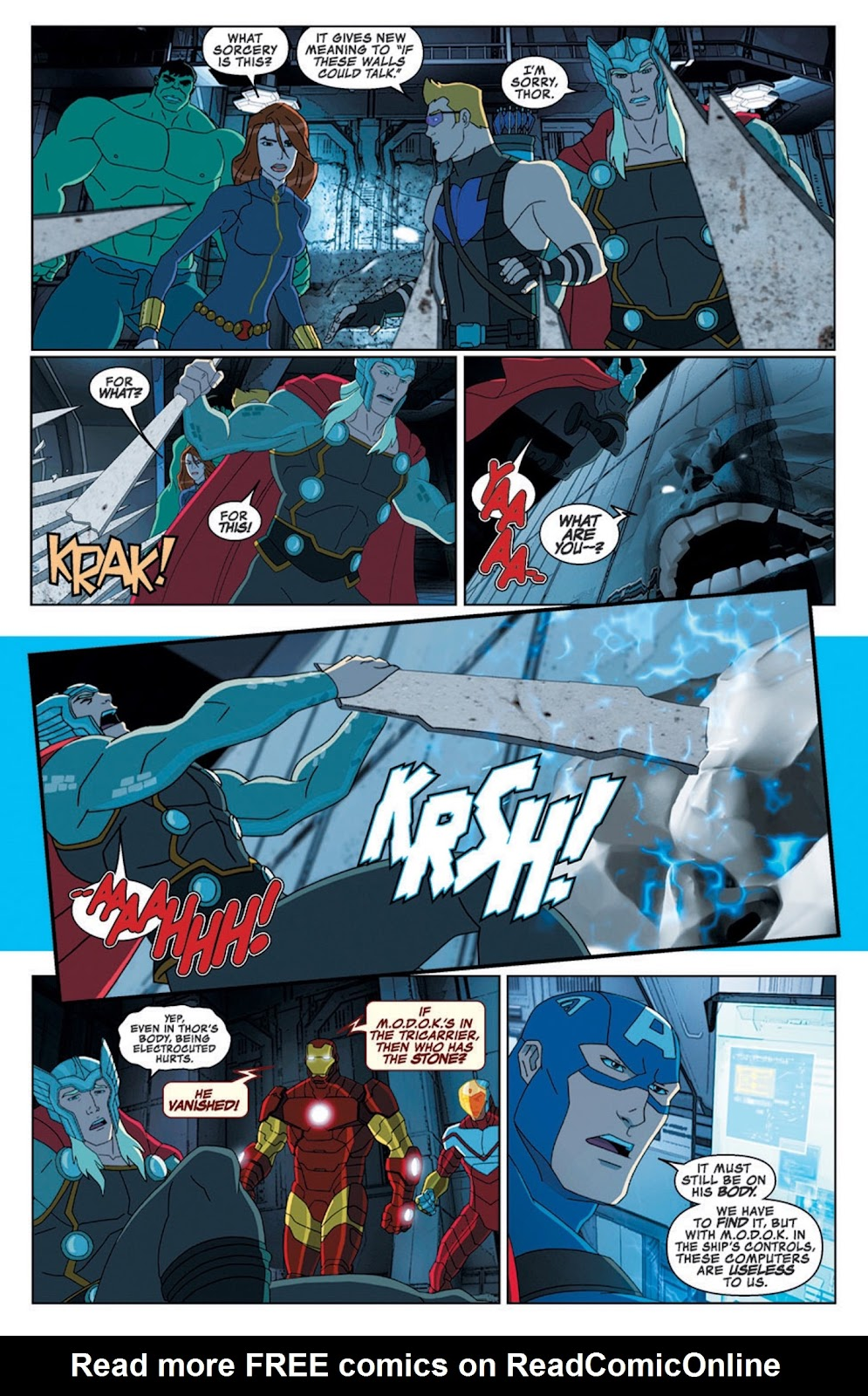 Read online Marvel Universe Avengers Assemble Season 2 comic -  Issue #8 - 20