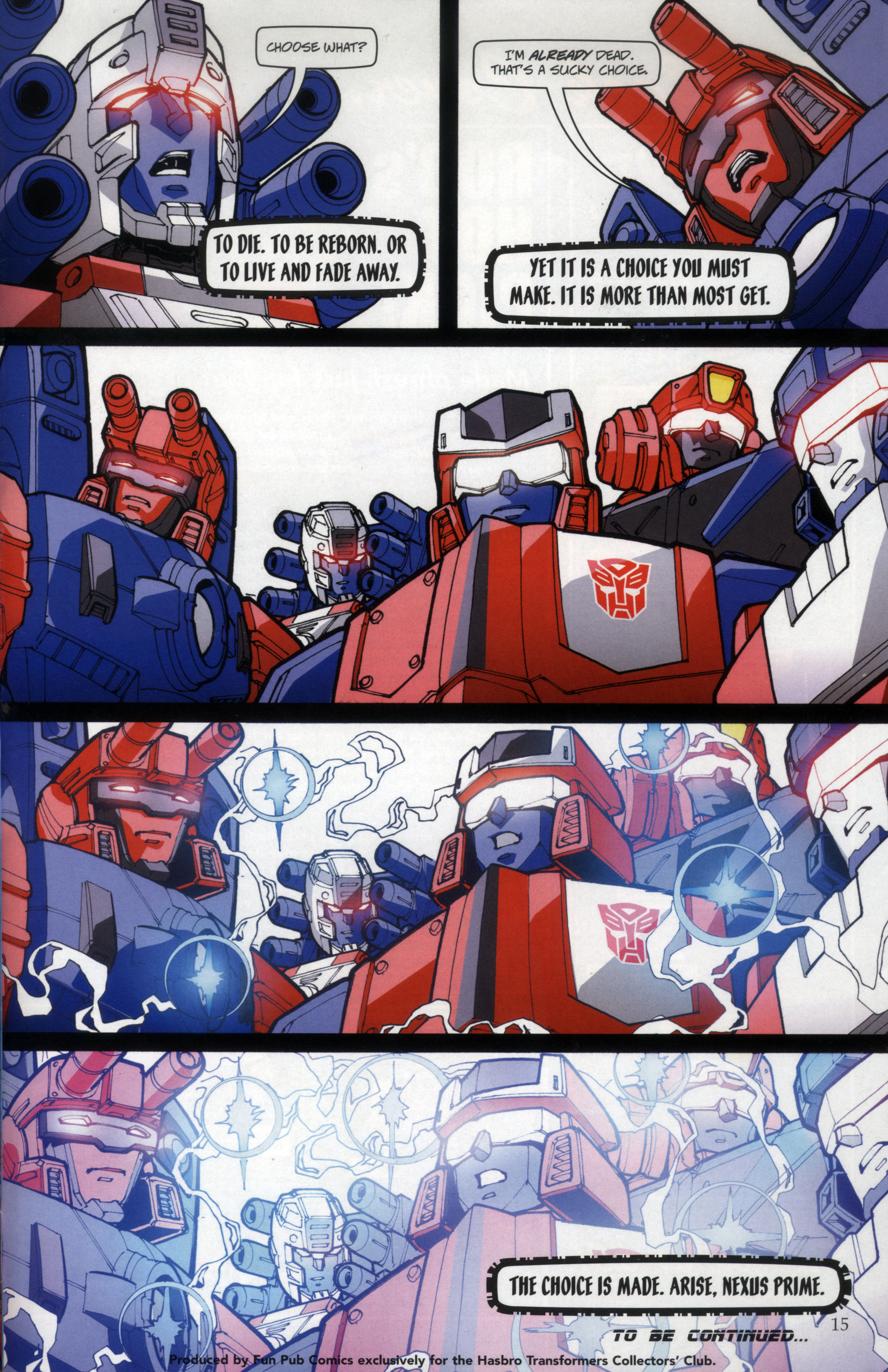 Read online Transformers: Collectors' Club comic -  Issue #29 - 15