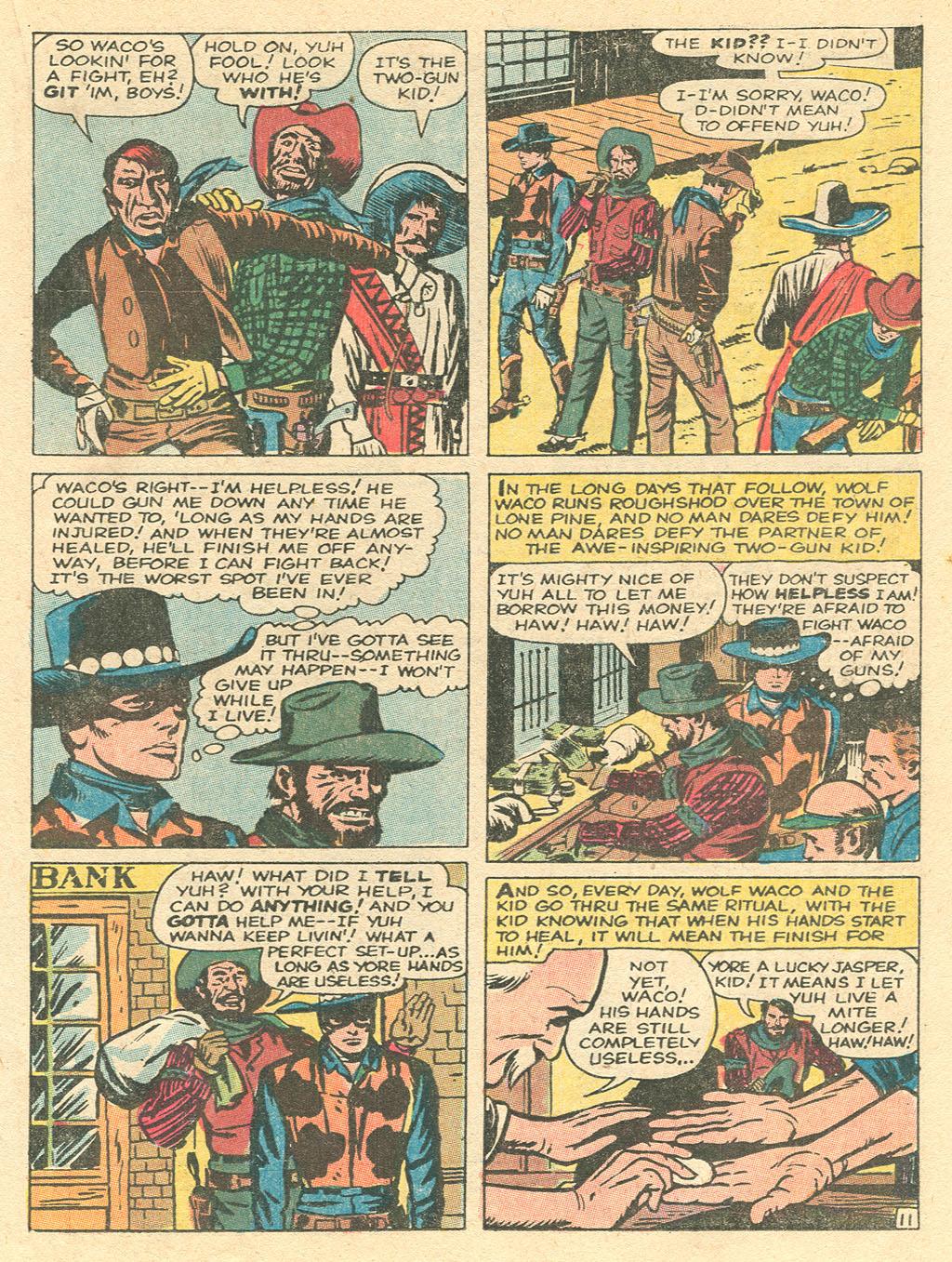 Read online Two-Gun Kid comic -  Issue #101 - 17