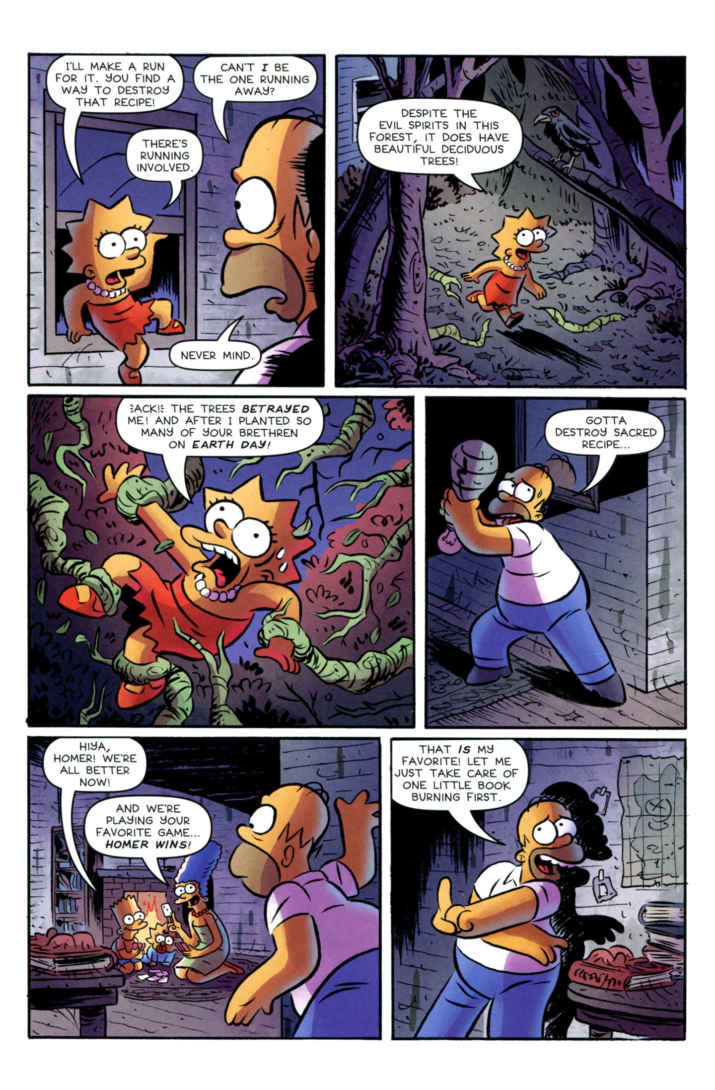 Read online Treehouse of Horror comic -  Issue #18 - 11