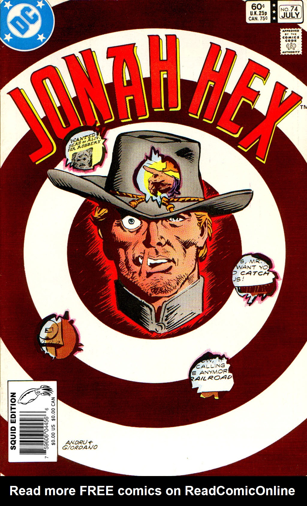 Jonah Hex (1977) 74 Page 1