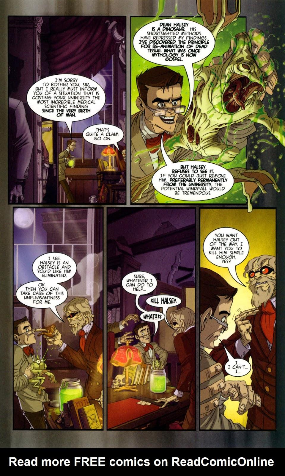 Read online Re-Animator comic -  Issue # Full - 7