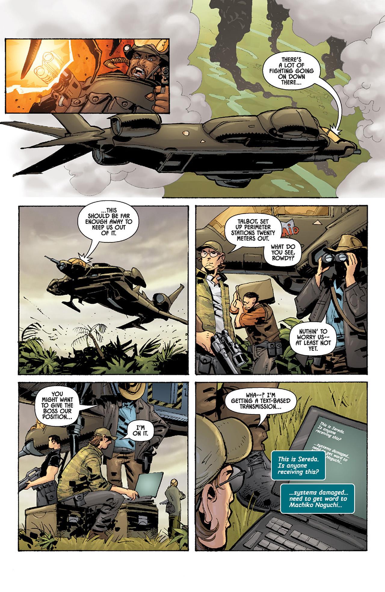 Read online Aliens vs. Predator: Three World War comic -  Issue #5 - 22