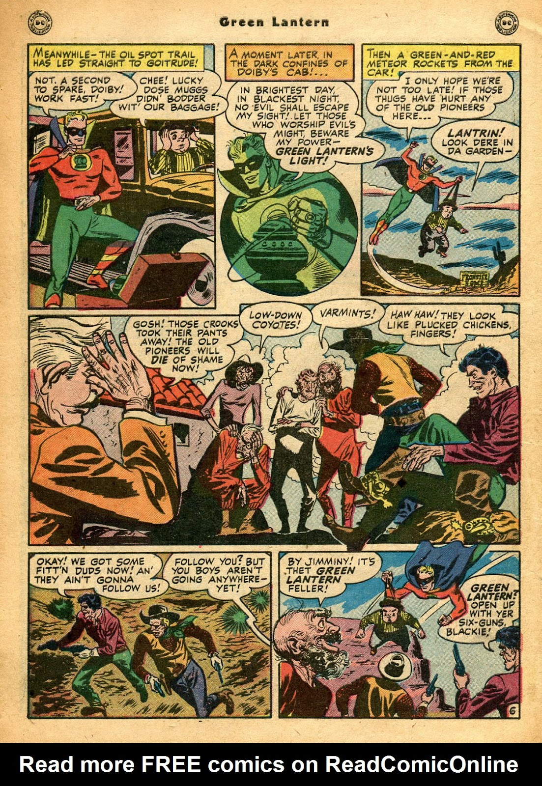 Green Lantern (1941) Issue #33 #33 - English 9