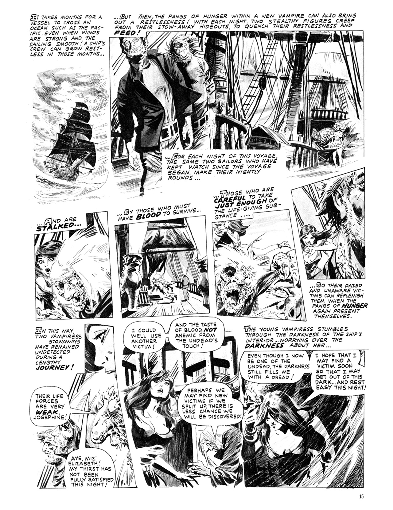 Read online Eerie Archives comic -  Issue # TPB 10 - 16