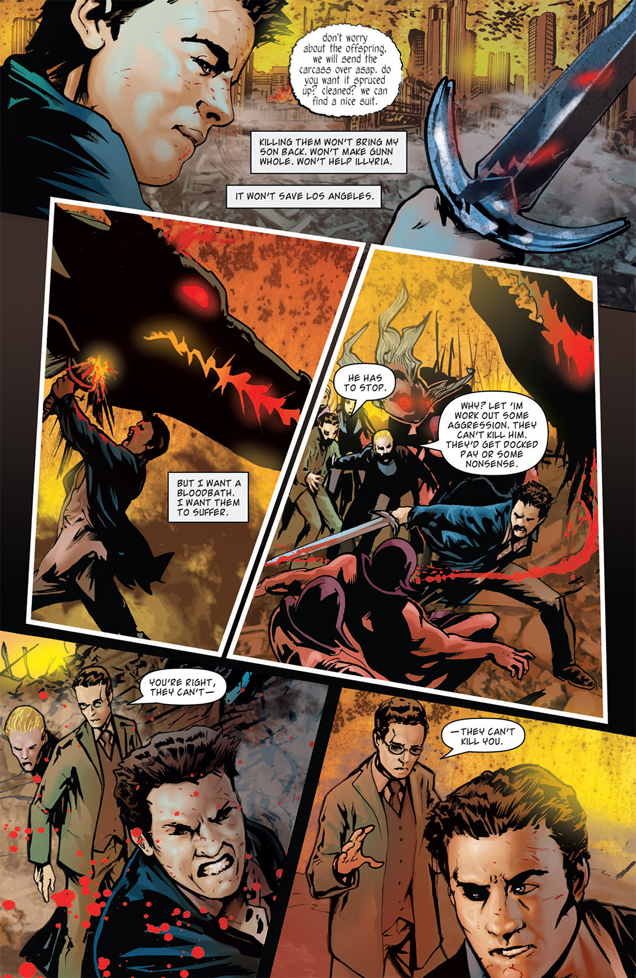 Read online Angel: After The Fall comic -  Issue #16 - 6
