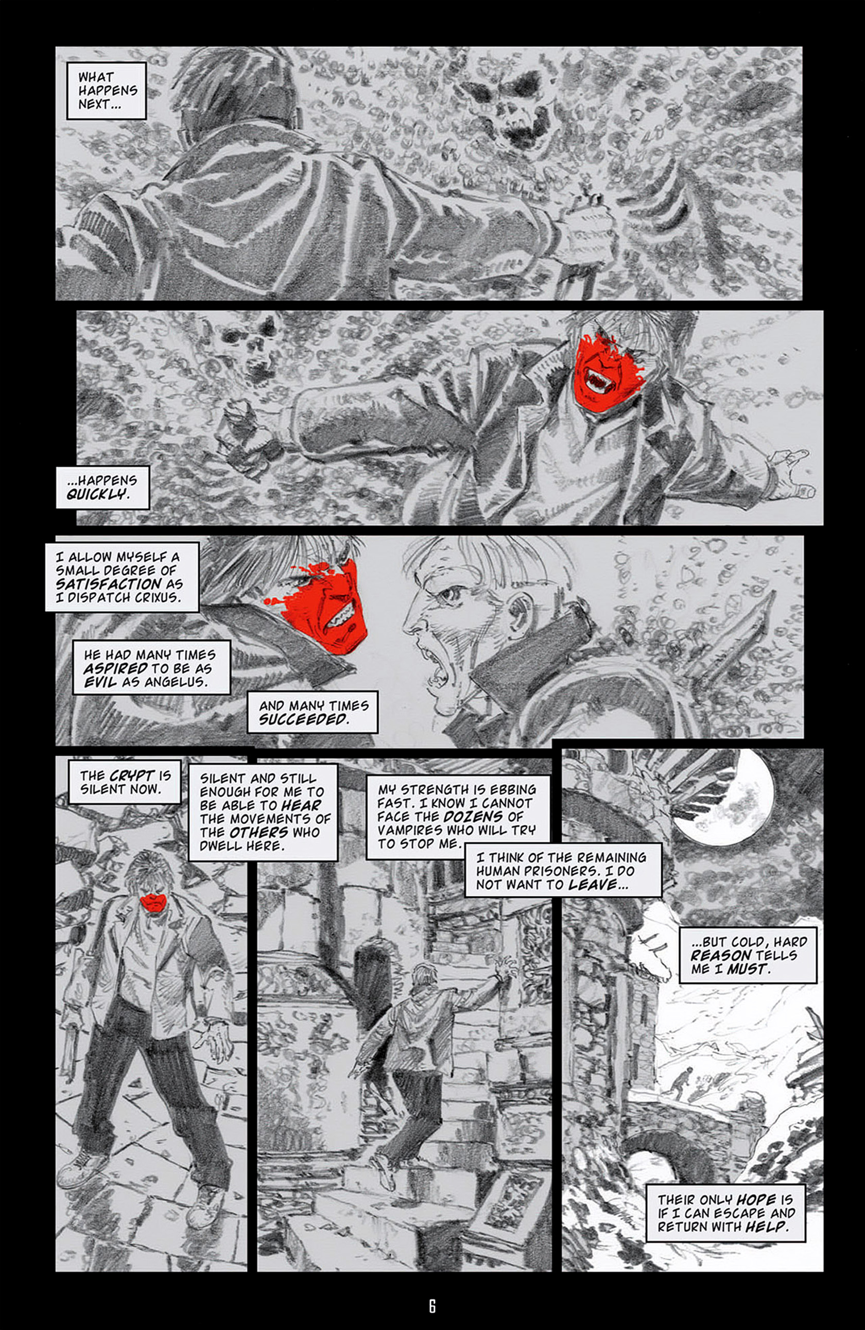 Read online Angel: Blood & Trenches comic -  Issue #4 - 9