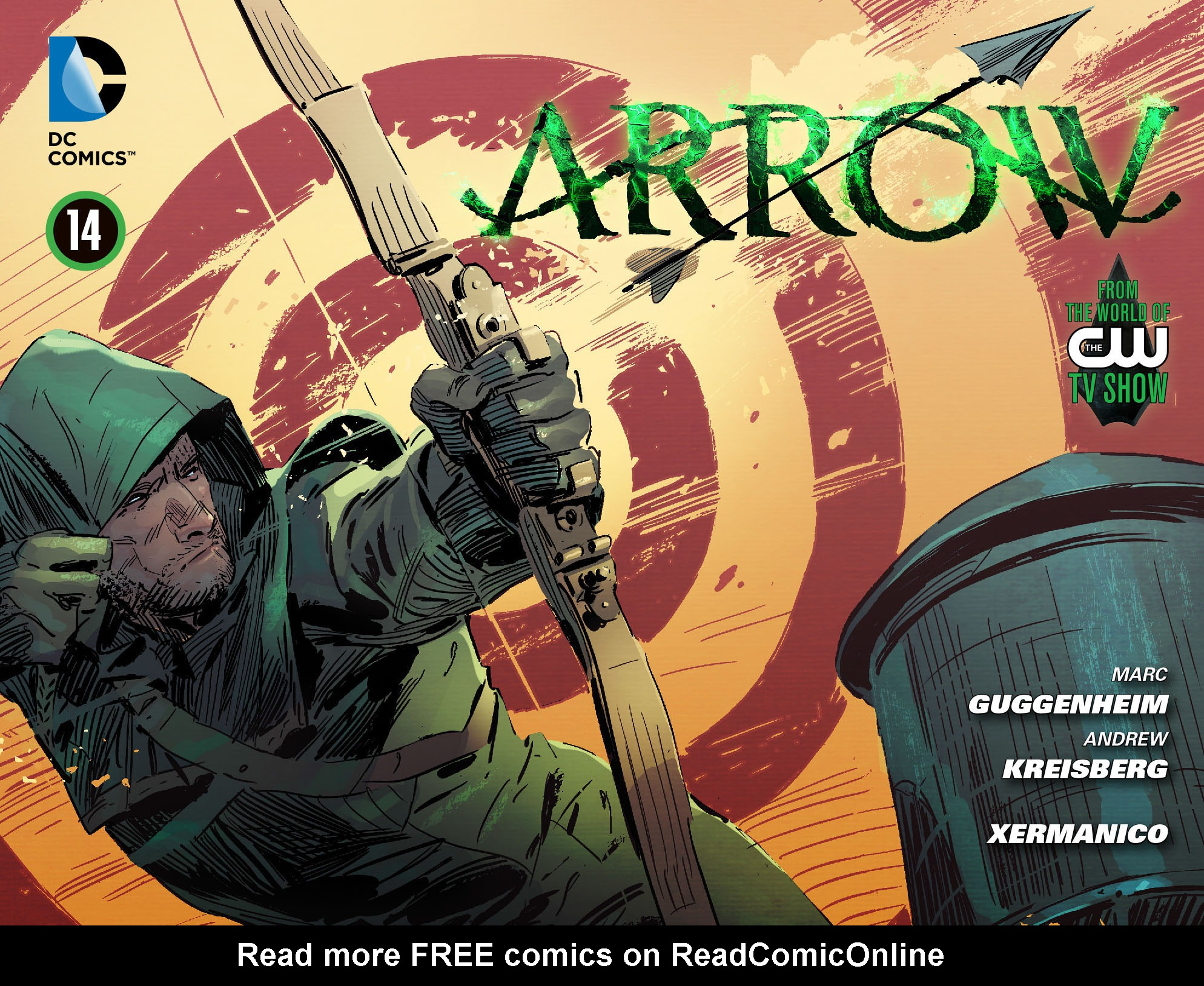 Read online Arrow [II] comic -  Issue #14 - 1