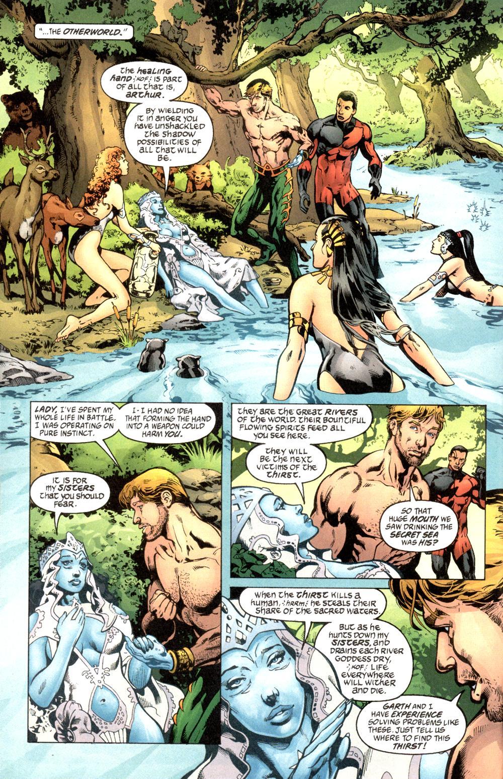 Read online Aquaman (2003) comic -  Issue #6 - 3