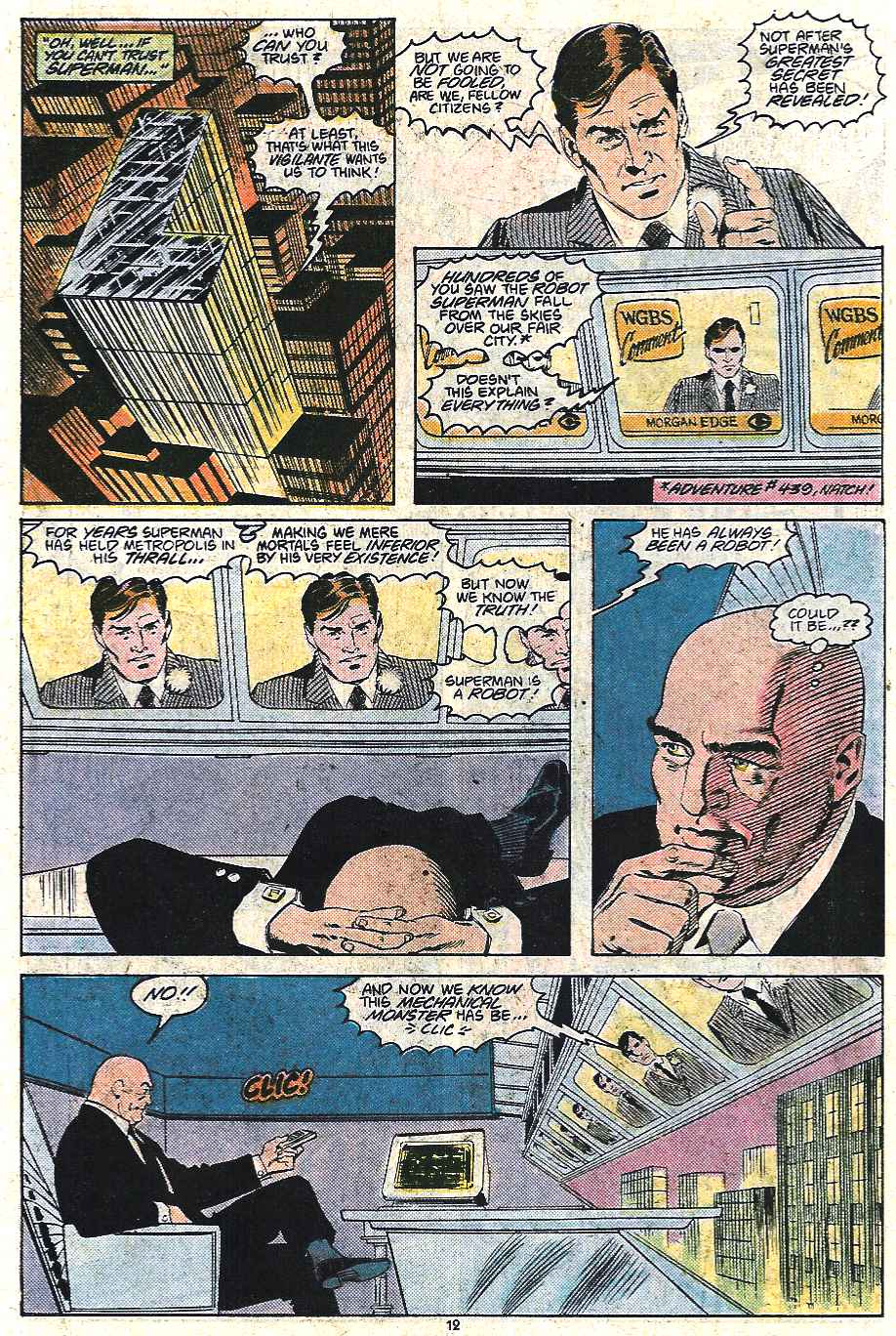 Read online Adventures of Superman (1987) comic -  Issue #440 - 13
