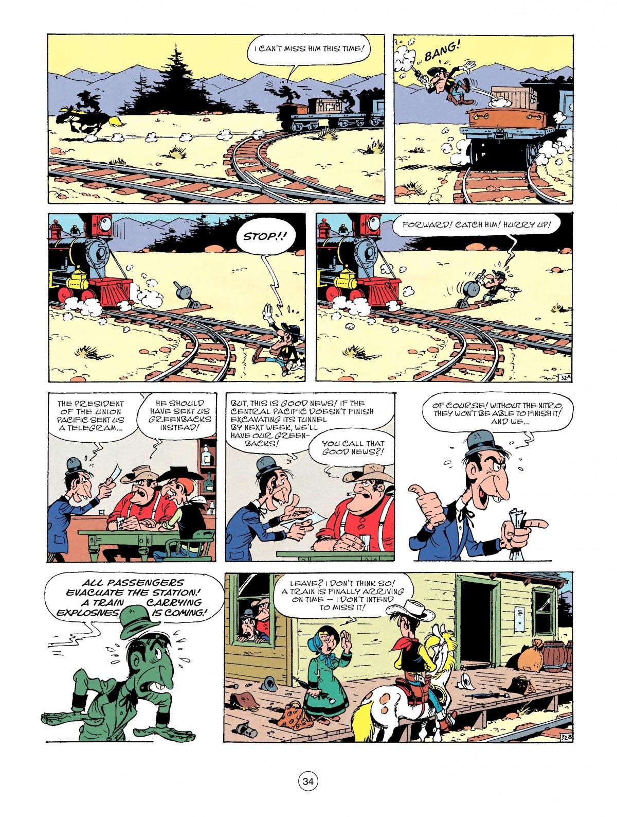 Read online A Lucky Luke Adventure comic -  Issue #53 - 34