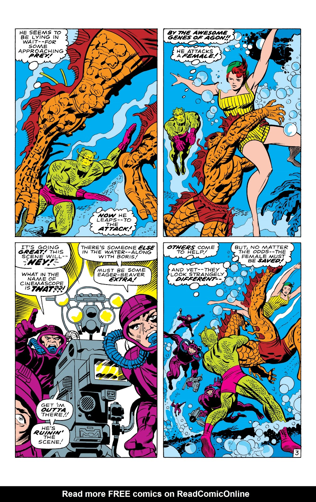 Read online Marvel Masterworks: The Inhumans comic -  Issue # TPB 1 (Part 1) - 30