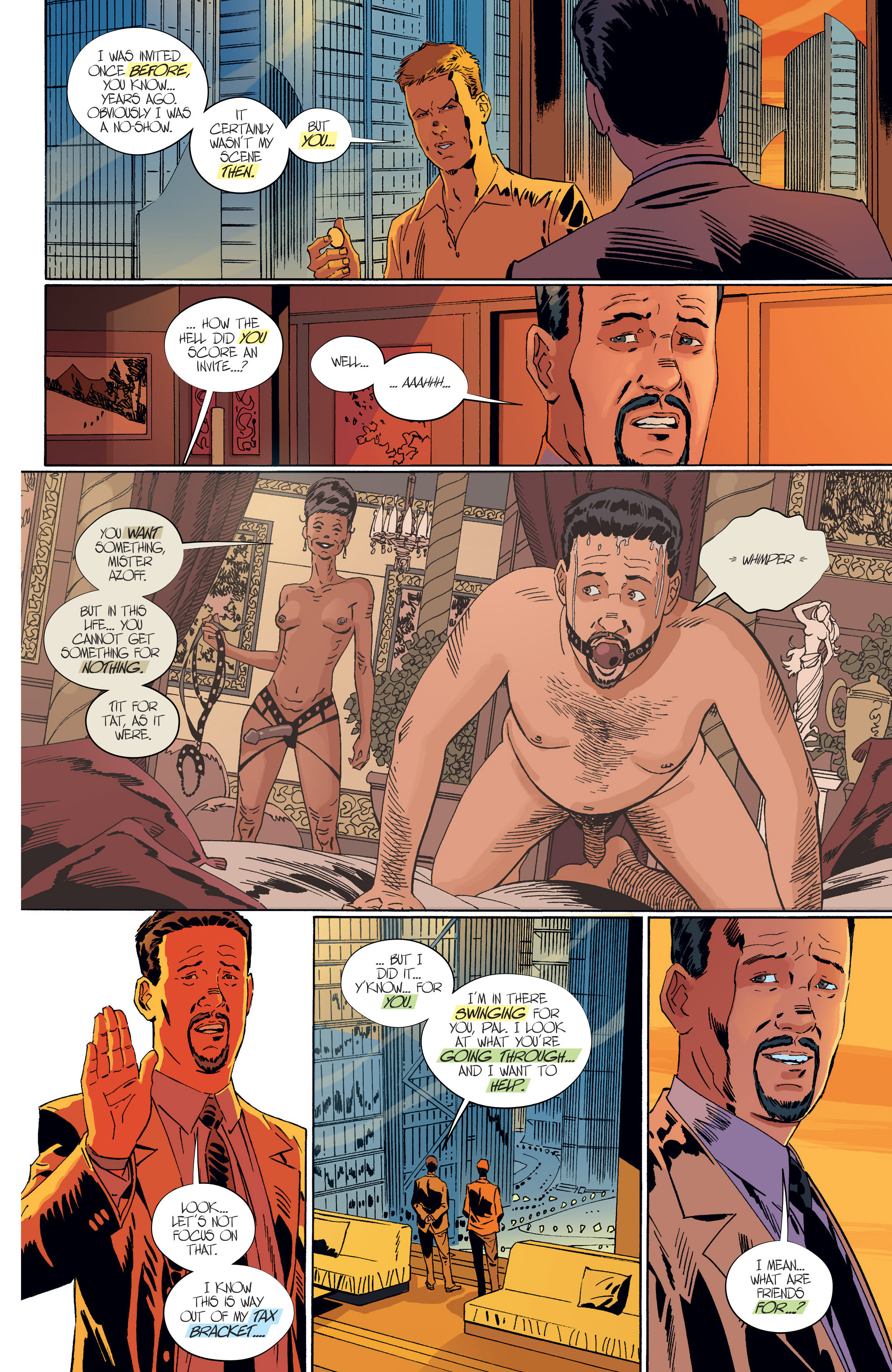 Read online Sex comic -  Issue #7 - 8