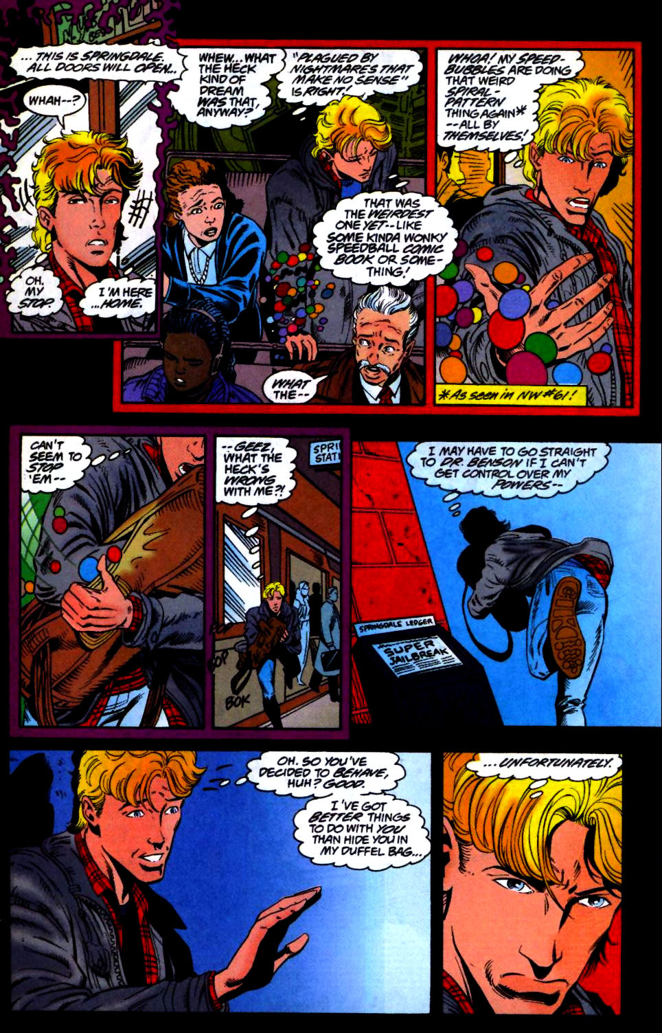 The New Warriors Issue #66 #70 - English 3