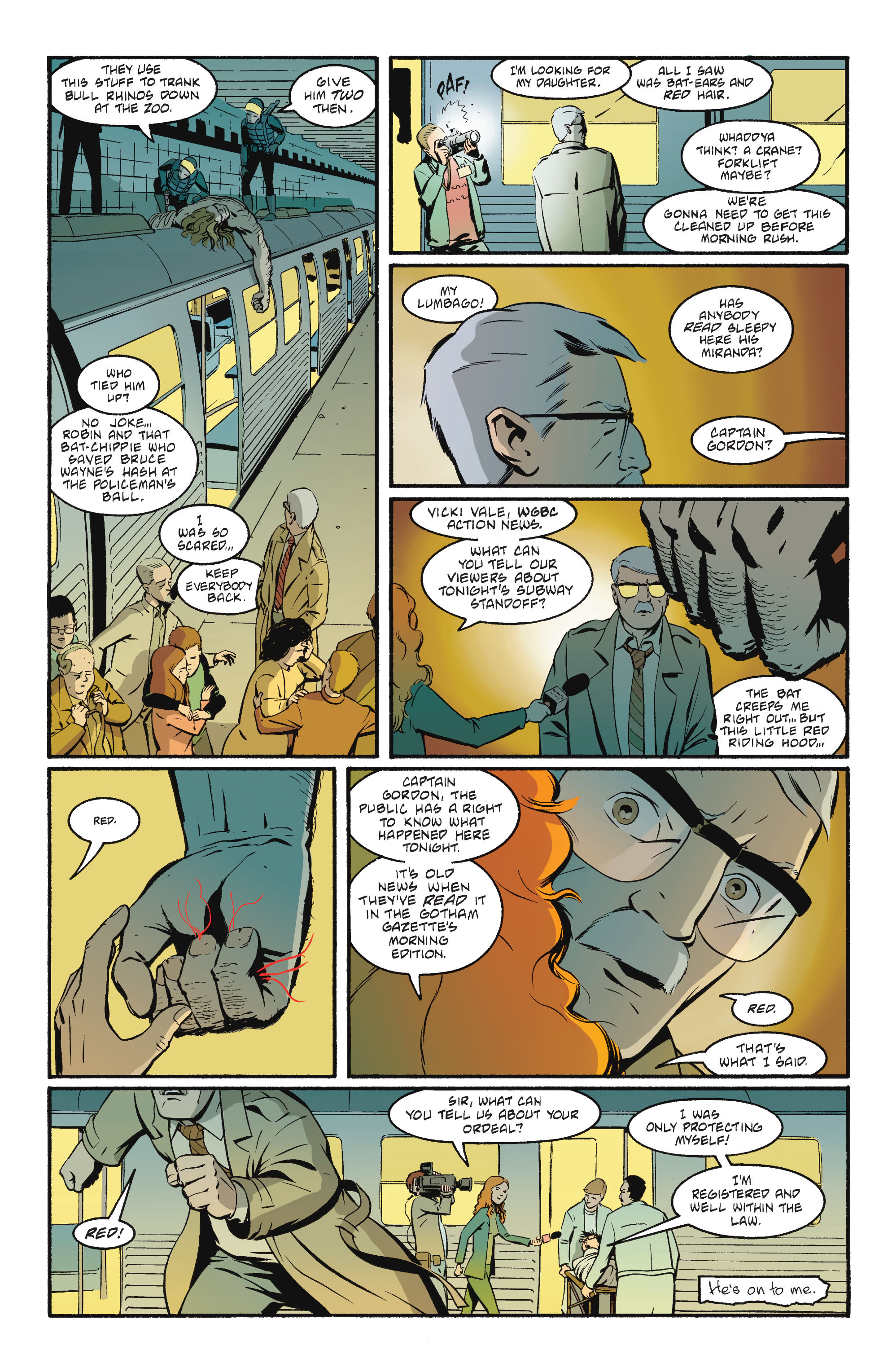 Read online Batgirl/Robin: Year One comic -  Issue # TPB 2 - 172