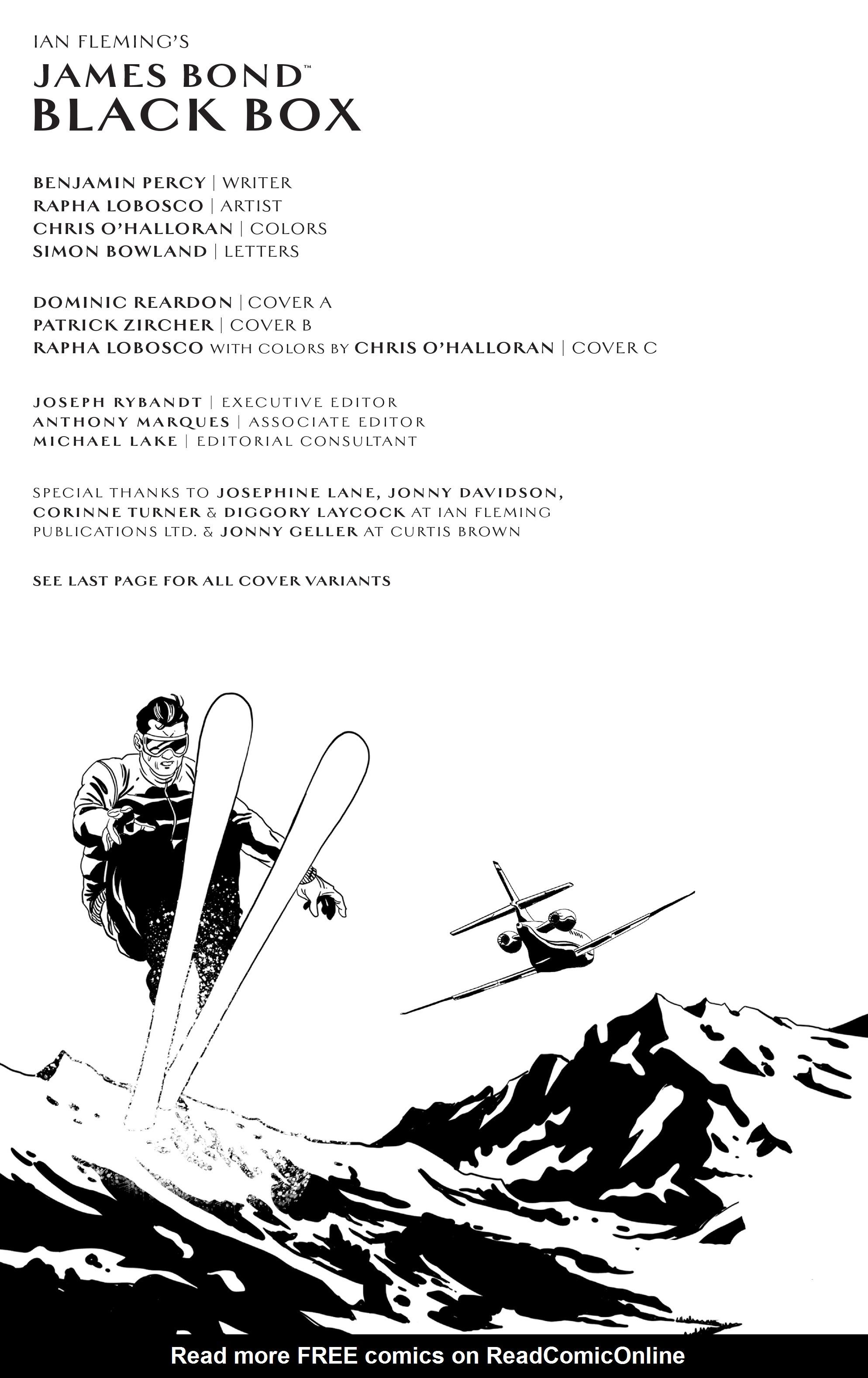 Read online James Bond (2017) comic -  Issue #3 - 2