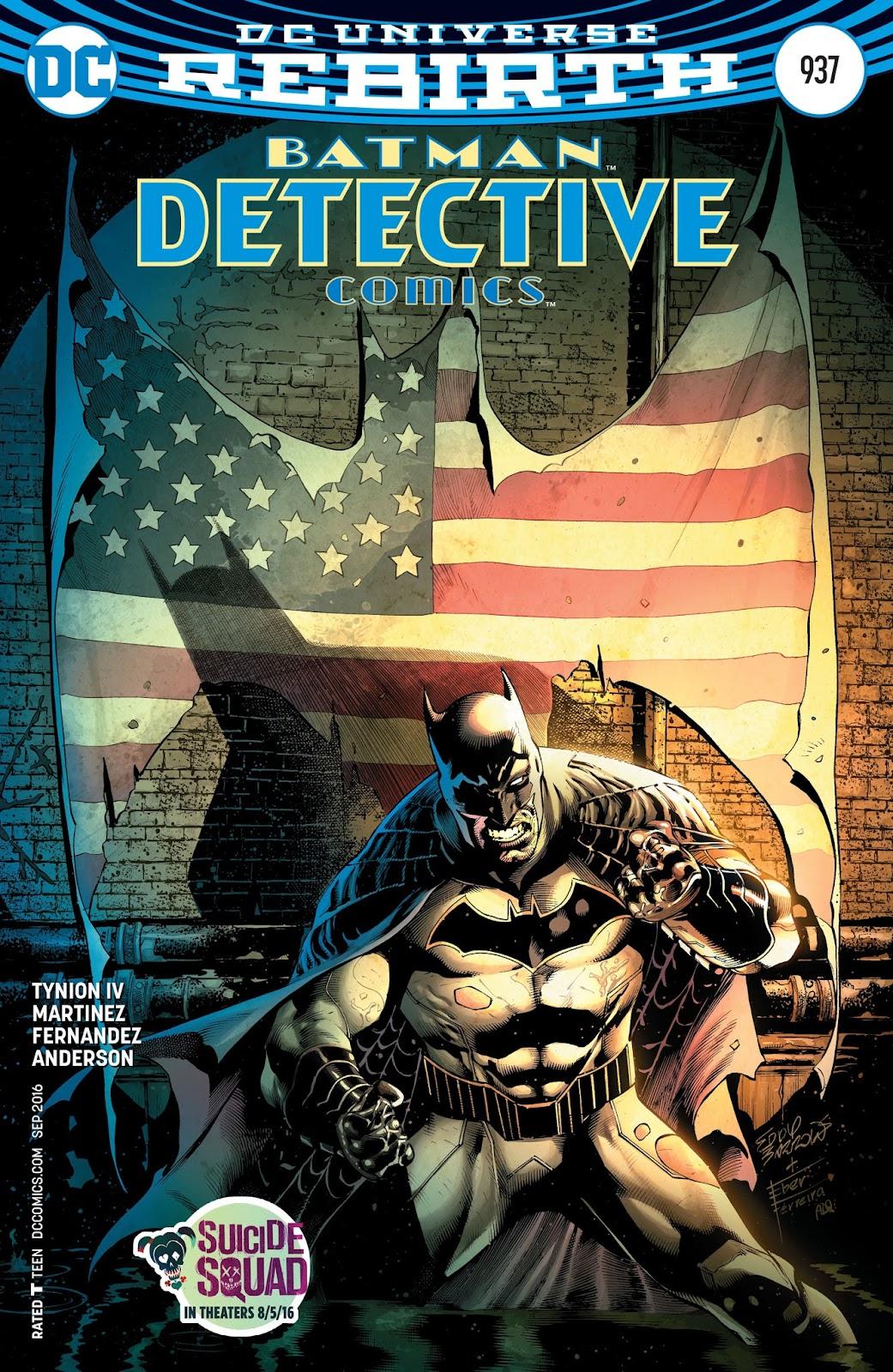 Detective Comics (1937) 937 Page 1