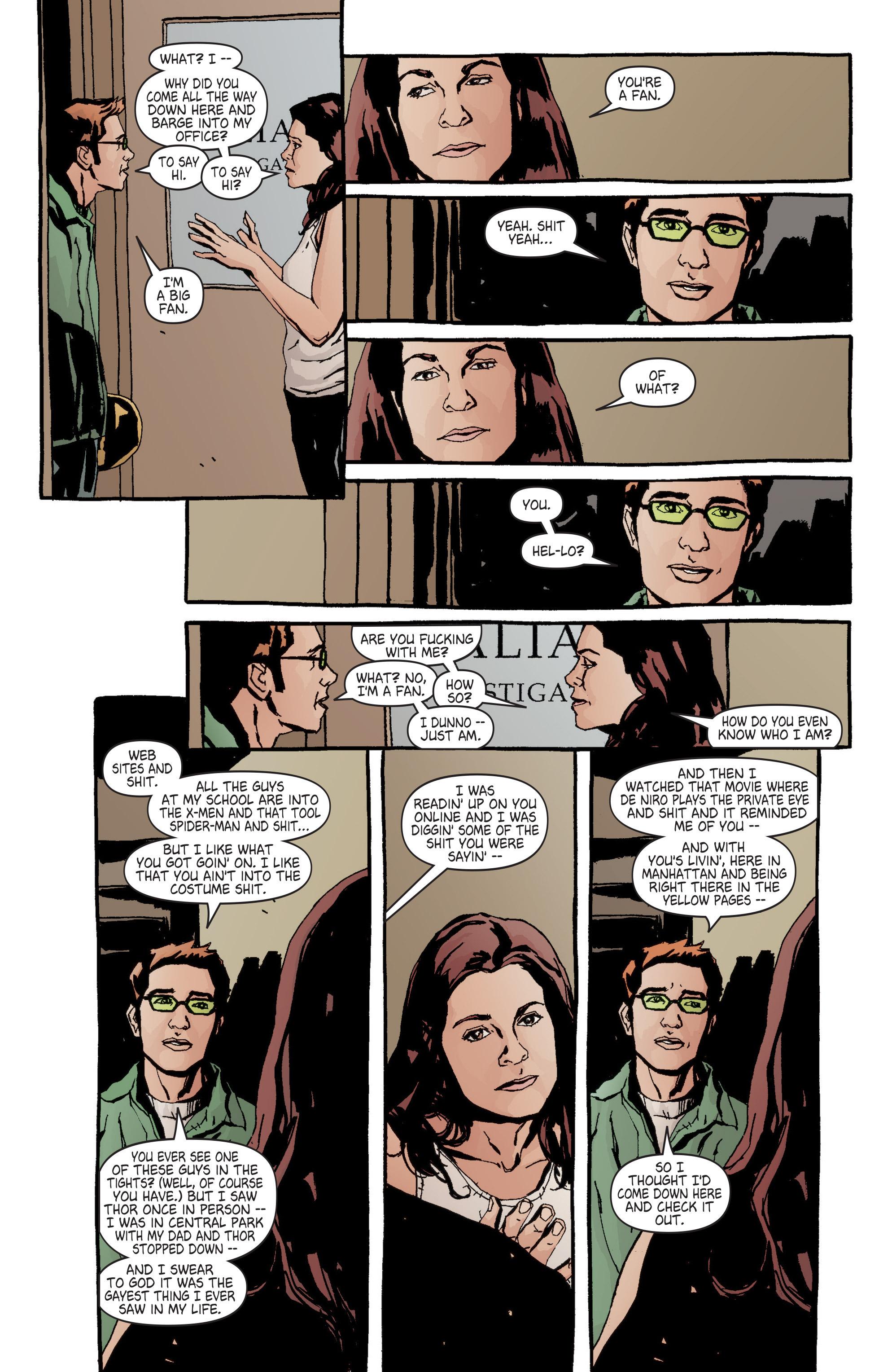 Read online Alias comic -  Issue #6 - 18