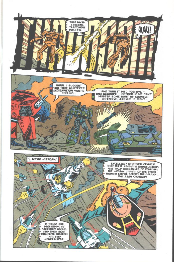 Read online Transformers: Generation 2 comic -  Issue #10 - 4