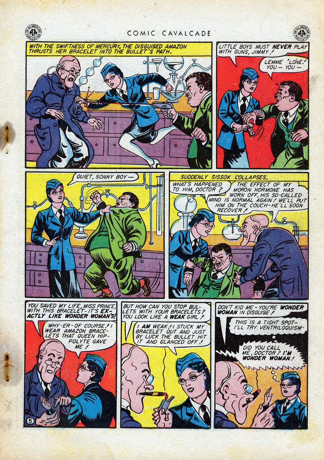 Comic Cavalcade issue 10 - Page 7