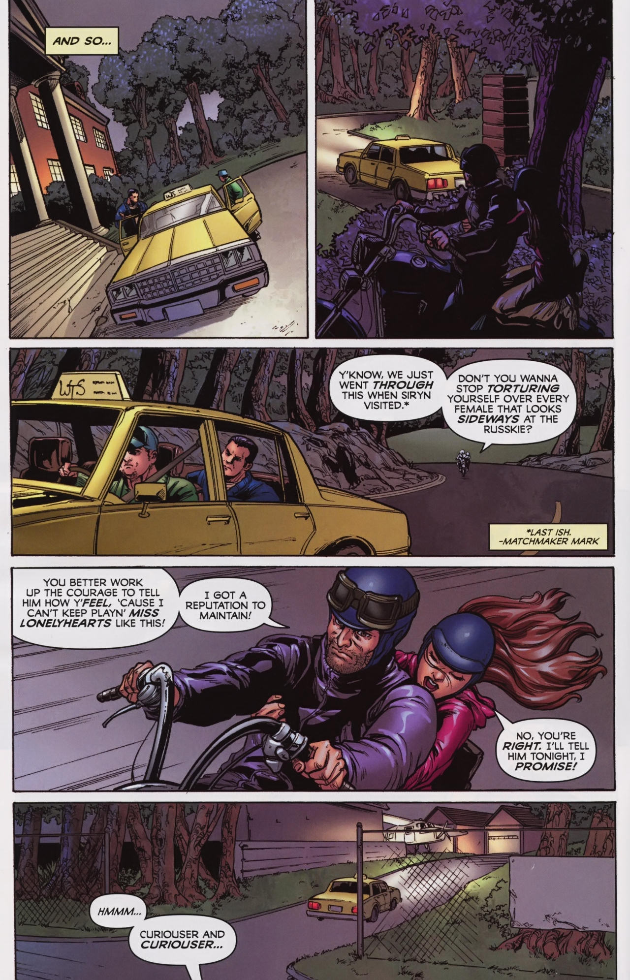 Read online Wolverine: First Class comic -  Issue #7 - 8