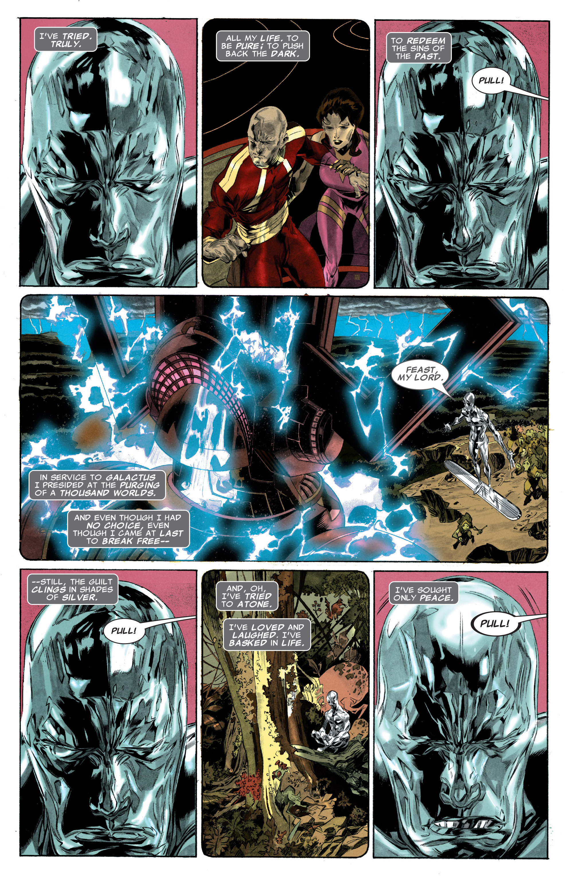Read online Silver Surfer: In Thy Name comic -  Issue #3 - 3