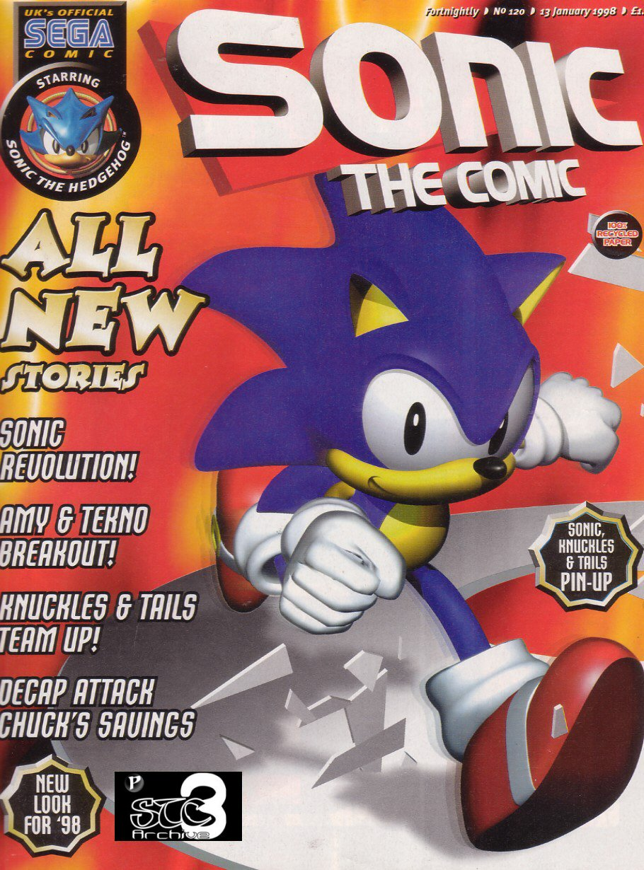 Read online Sonic the Comic comic -  Issue #120 - 1