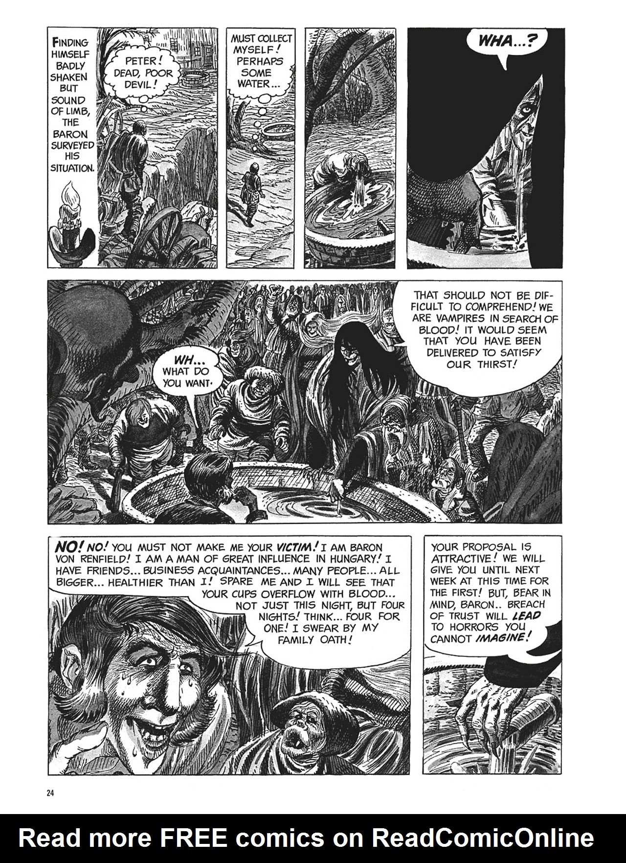 Read online Eerie Archives comic -  Issue # TPB 1 - 25