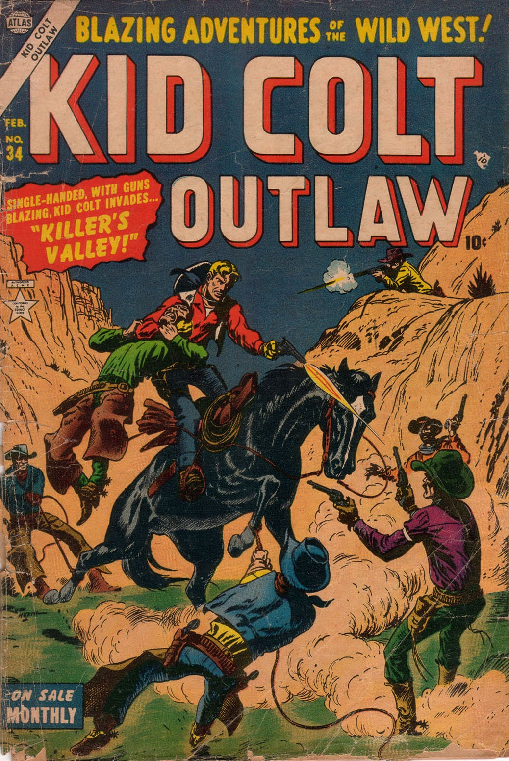Kid Colt Outlaw issue 34 - Page 1