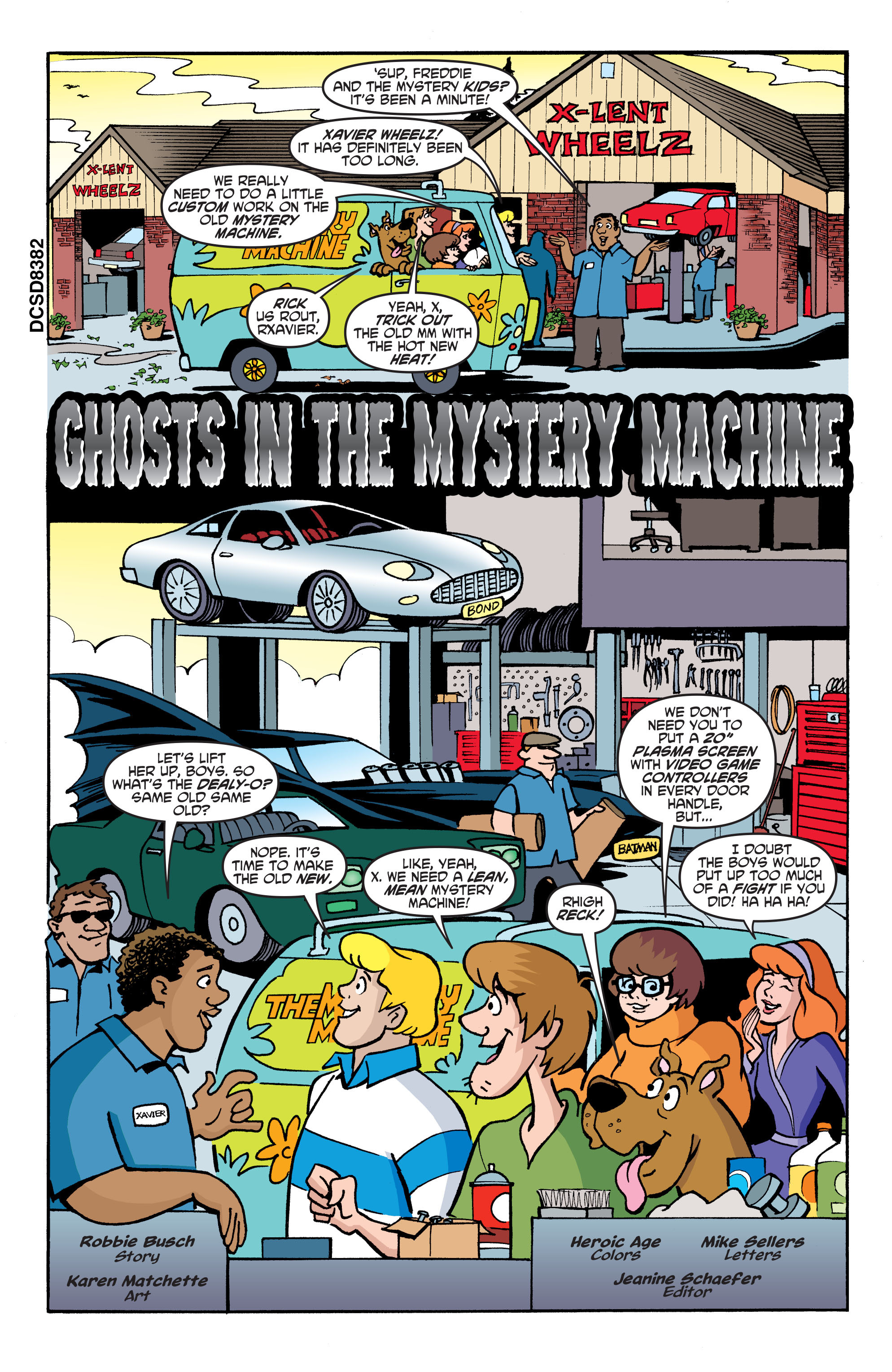 Read online Scooby-Doo: Where Are You? comic -  Issue #68 - 12