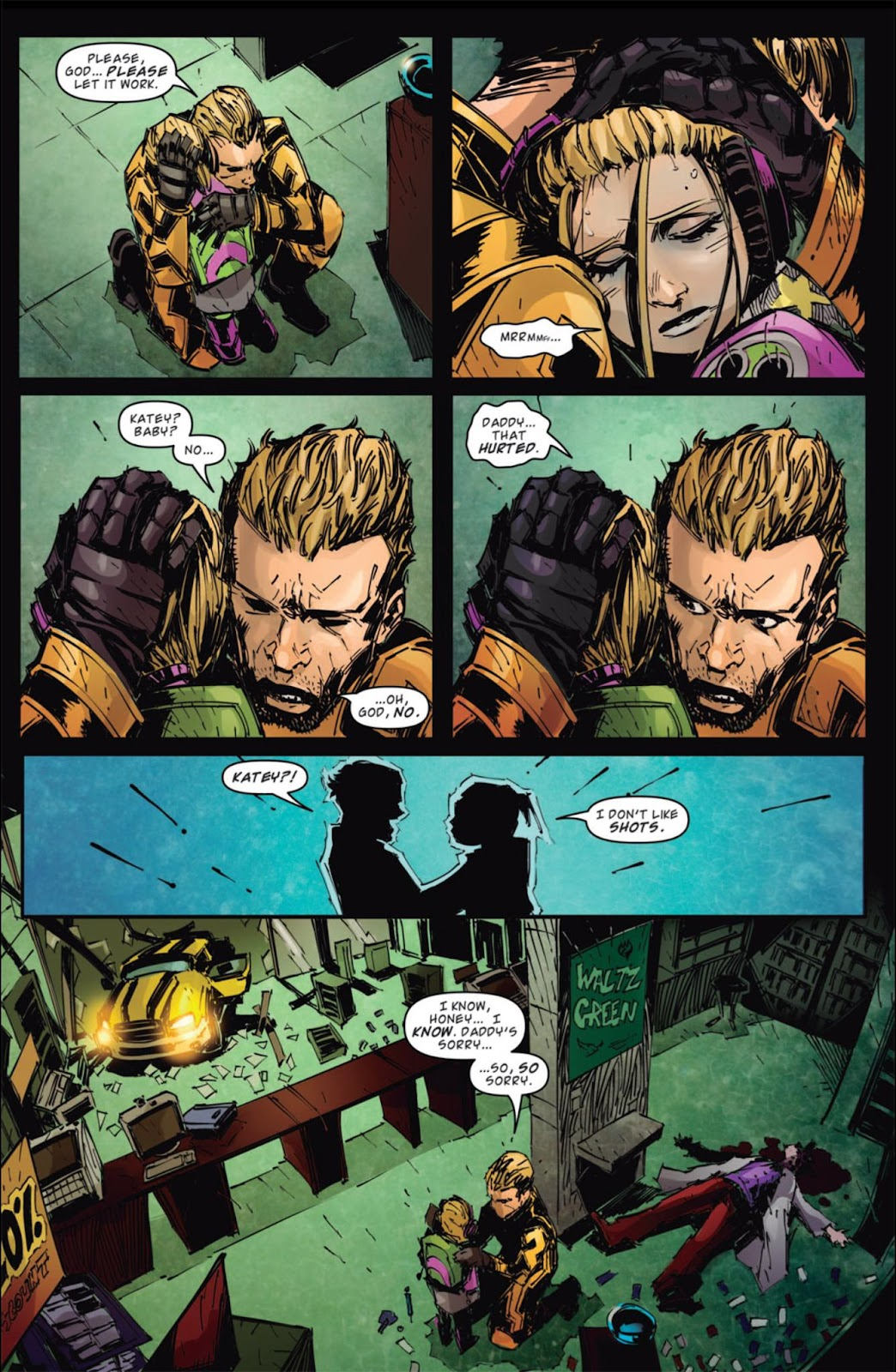Read online Dead Rising: Road to Fortune comic -  Issue #4 - 16