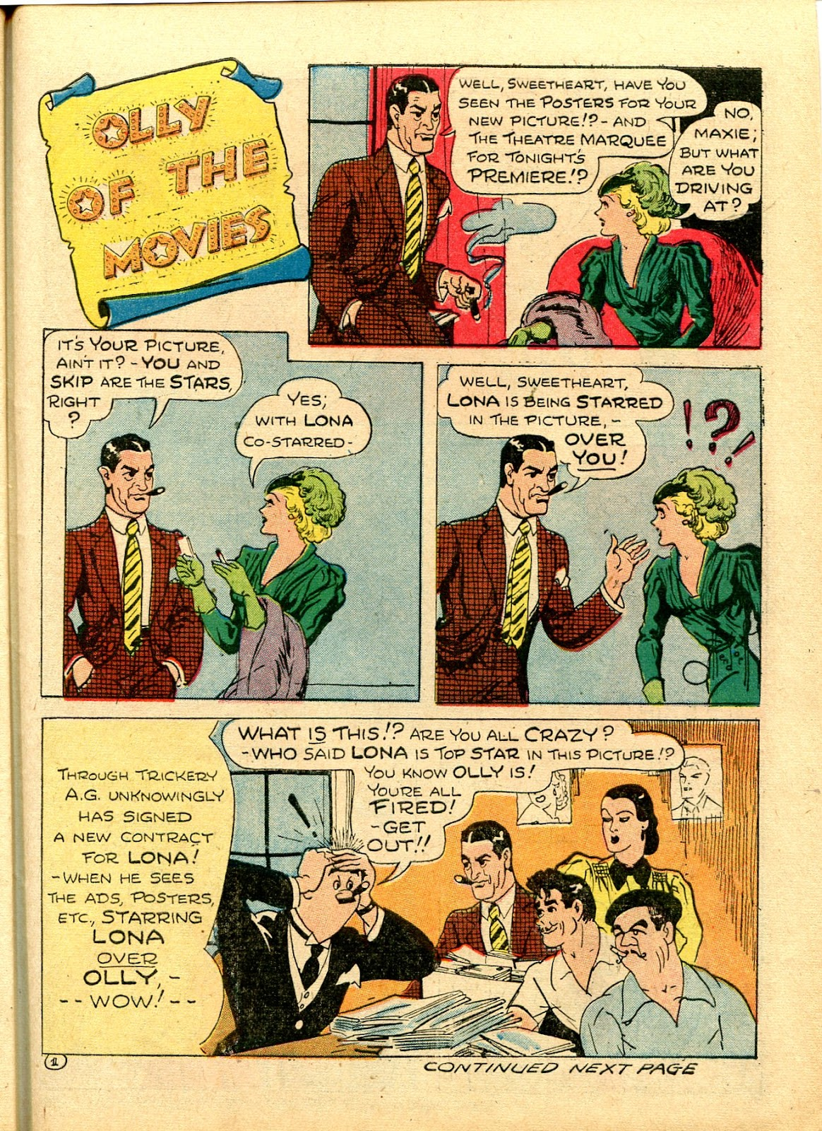 Read online Famous Funnies comic -  Issue #111 - 47