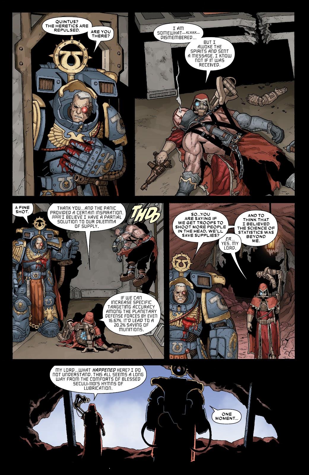 Warhammer 40,000: Marneus Calgar issue 5 - Page 19