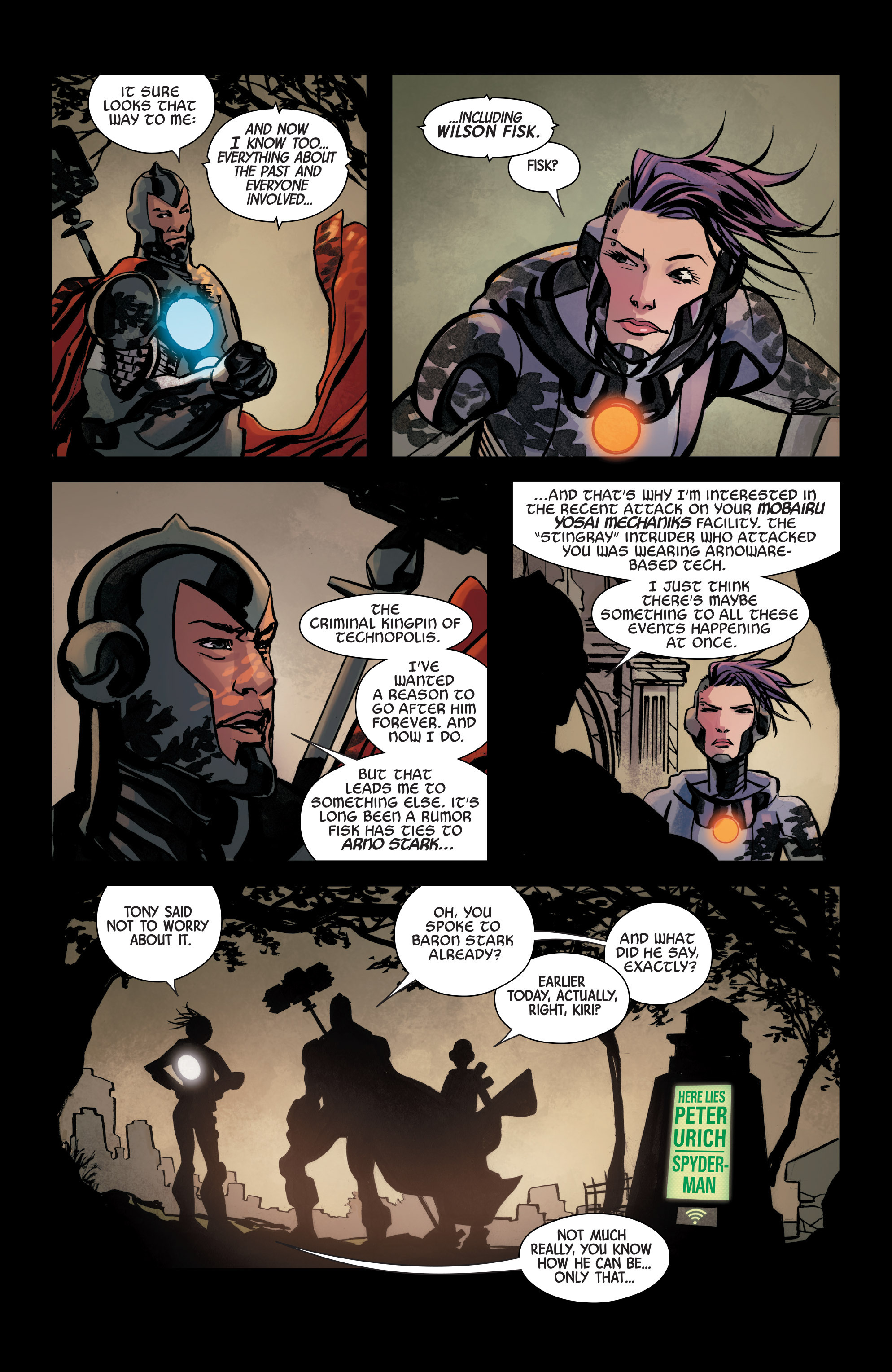 Read online Armor Wars comic -  Issue #3 - 10