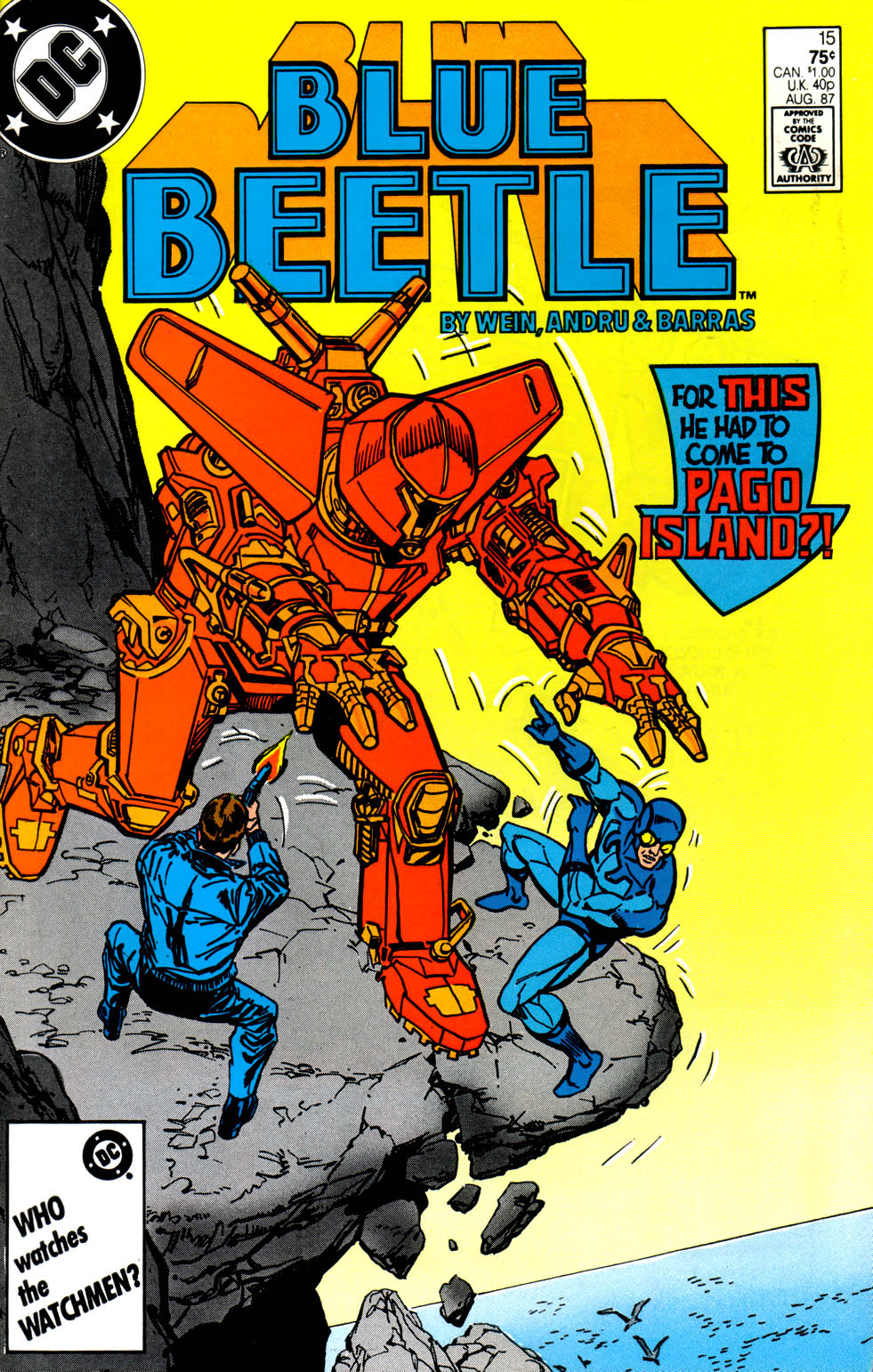 blue beetle 1986 issue 15 read full comics online for free