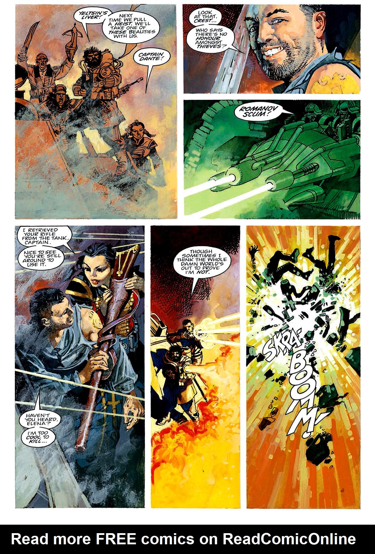 Read online Nikolai Dante comic -  Issue # TPB 4 - 42