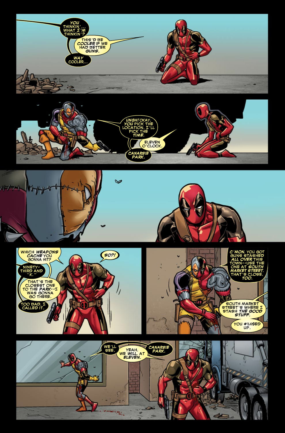 Read online Deadpool (2008) comic -  Issue #46 - 12