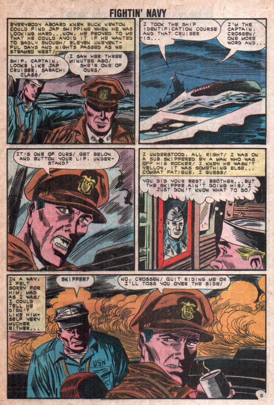 Read online Fightin' Navy comic -  Issue #108 - 8