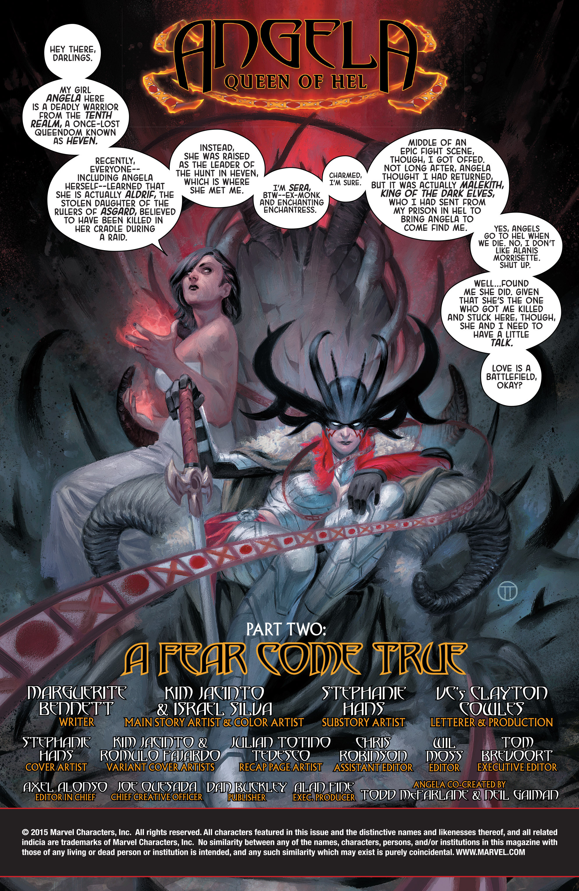 Read online Angela: Queen Of Hel comic -  Issue #2 - 2