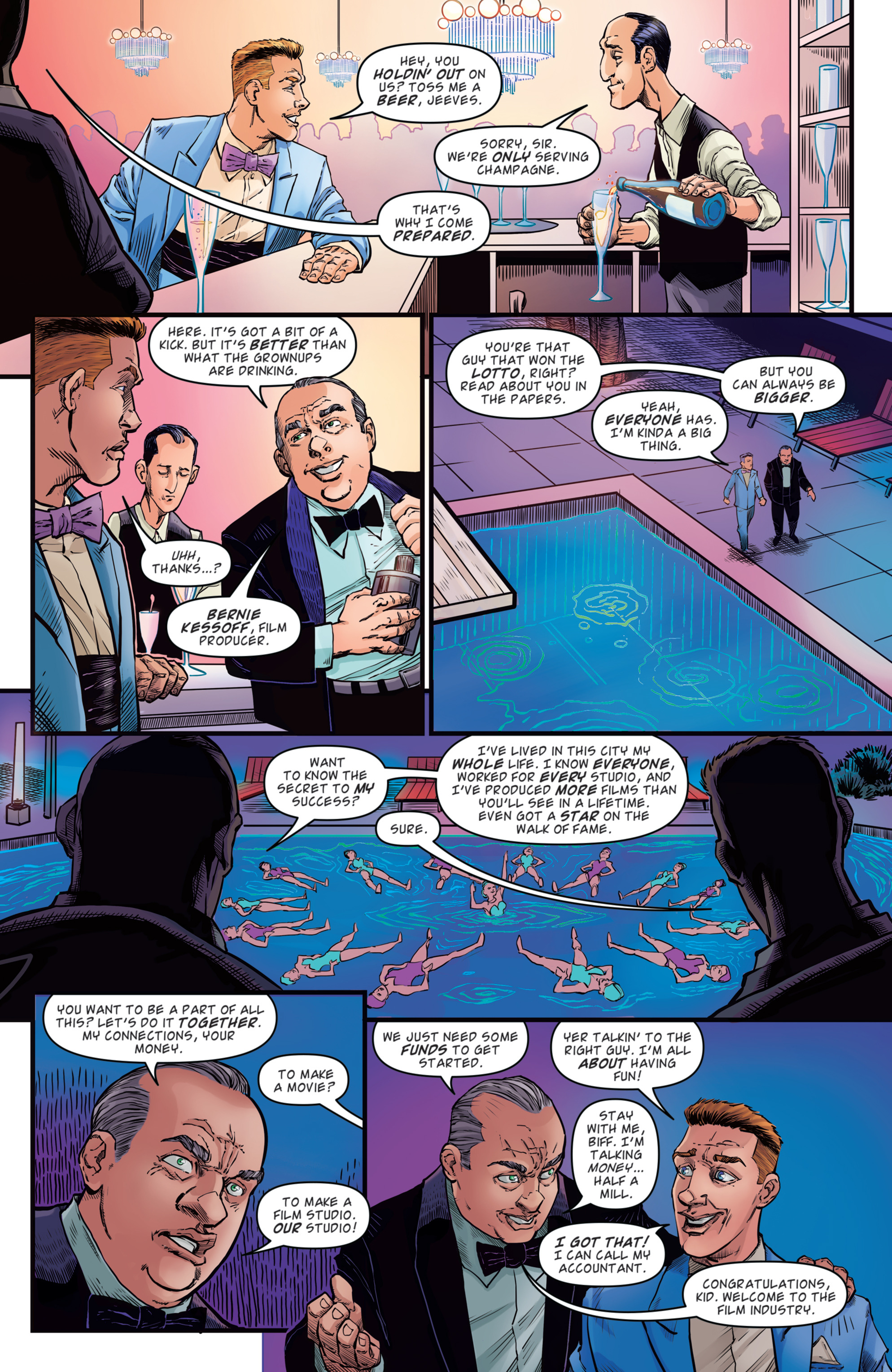Read online Back to the Future: Biff to the Future comic -  Issue #2 - 6