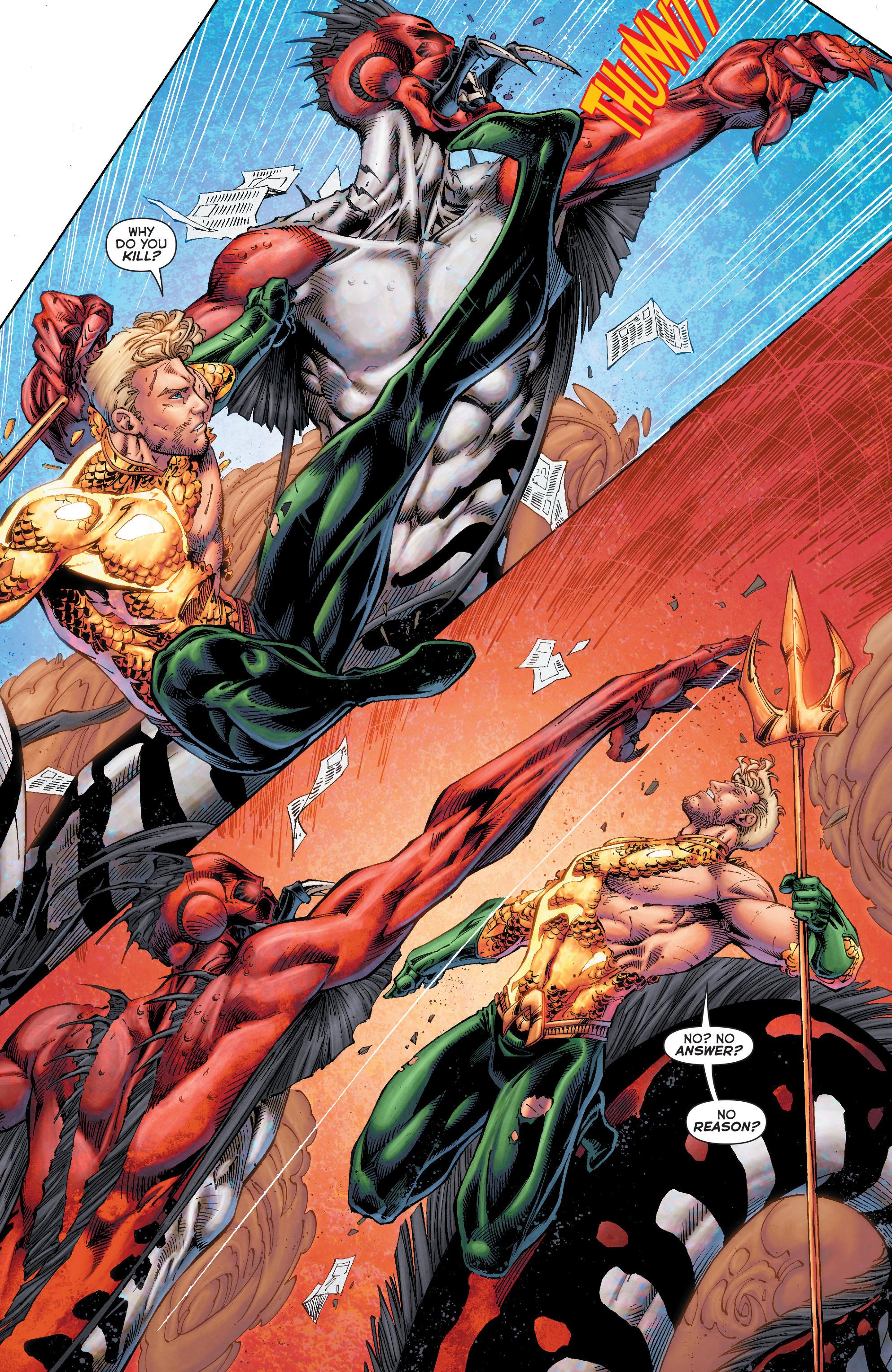 Read online Aquaman (2011) comic -  Issue #50 - 26