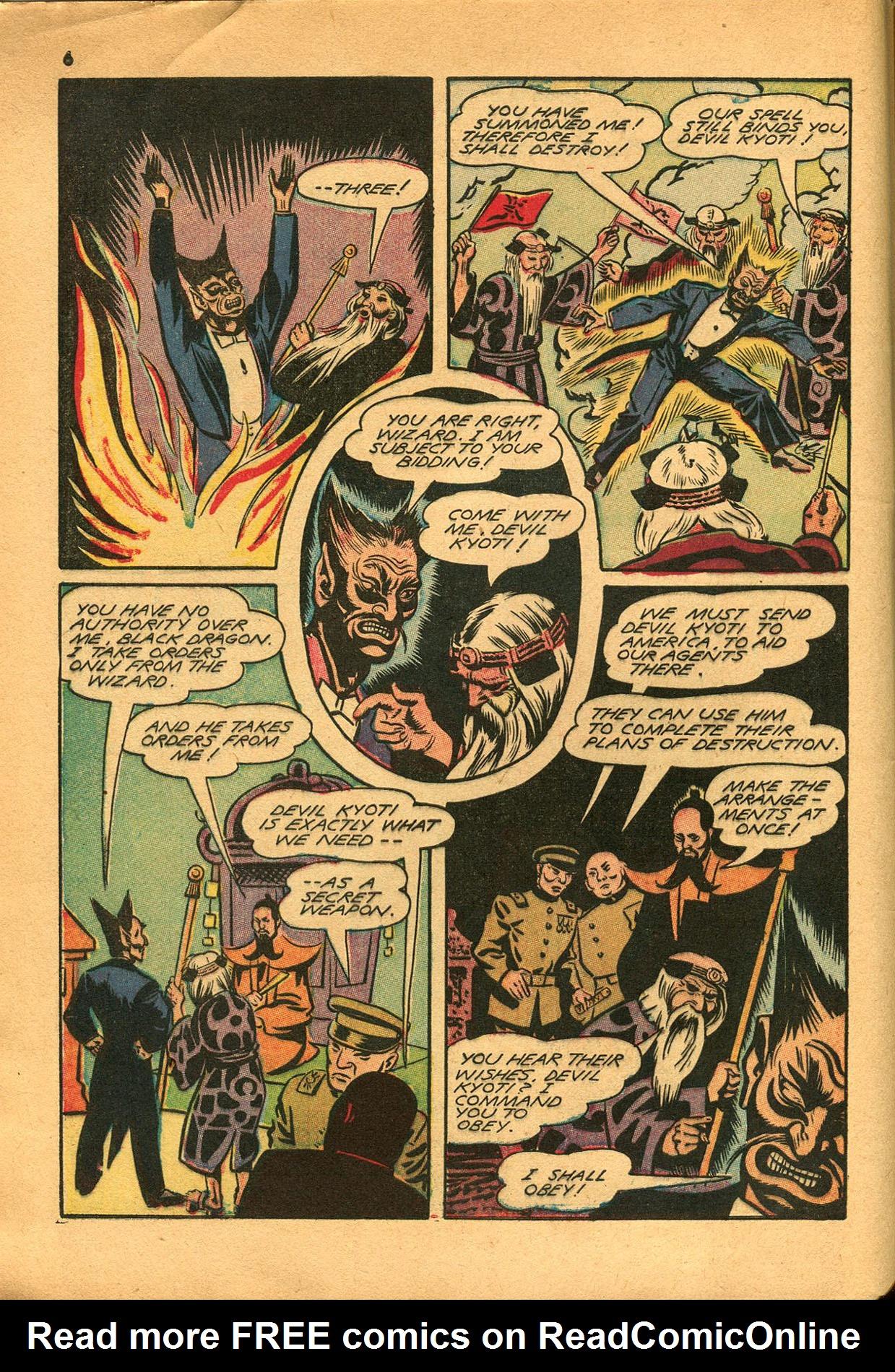 Read online Shadow Comics comic -  Issue #23 - 6