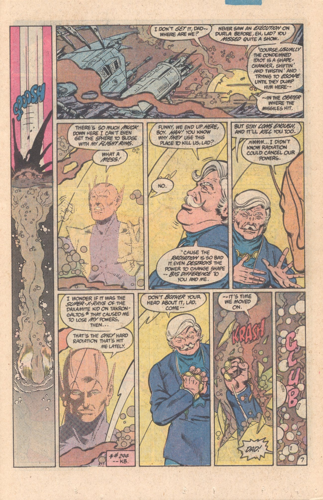 Legion of Super-Heroes (1980) 301 Page 7
