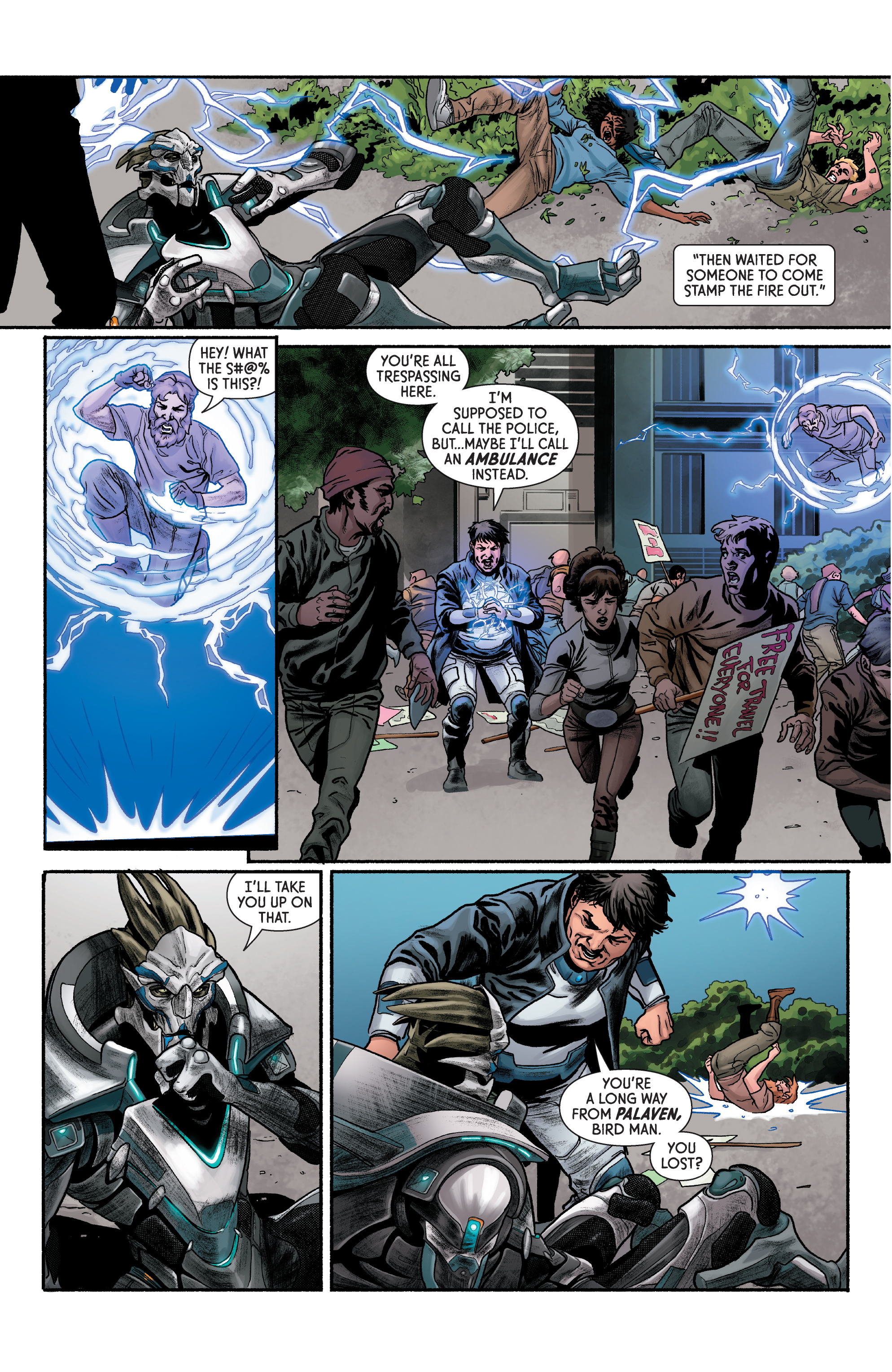 Read online Mass Effect: Discovery comic -  Issue #1 - 15