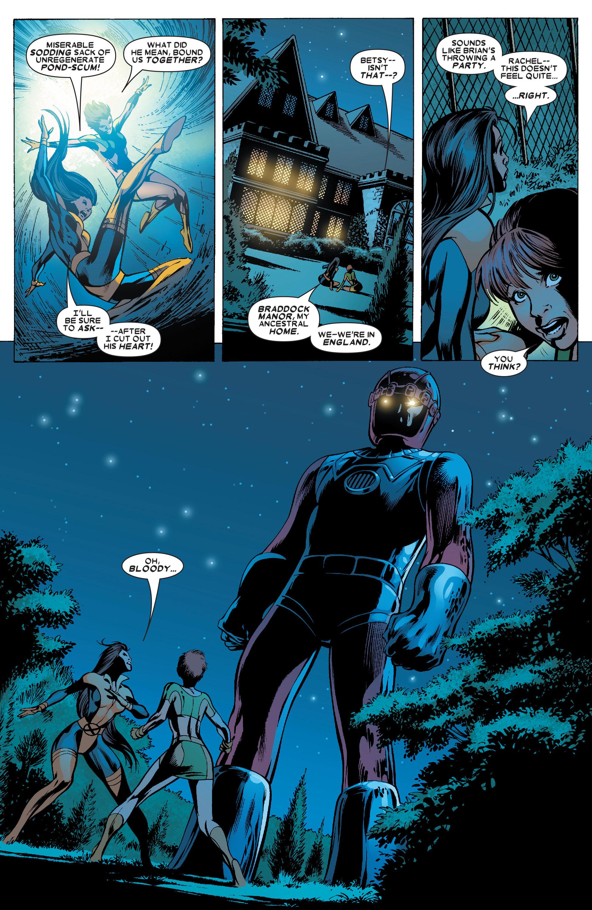 Read online Uncanny X-Men (1963) comic -  Issue #462 - 22
