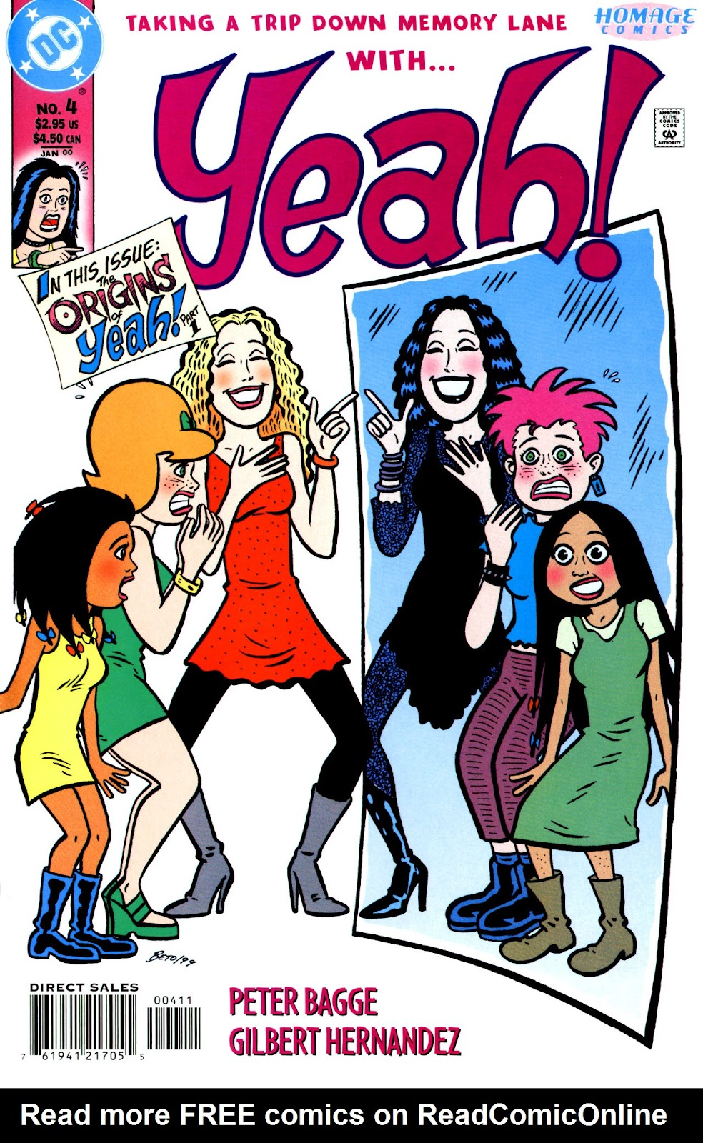 Read online Yeah! comic -  Issue #4 - 1