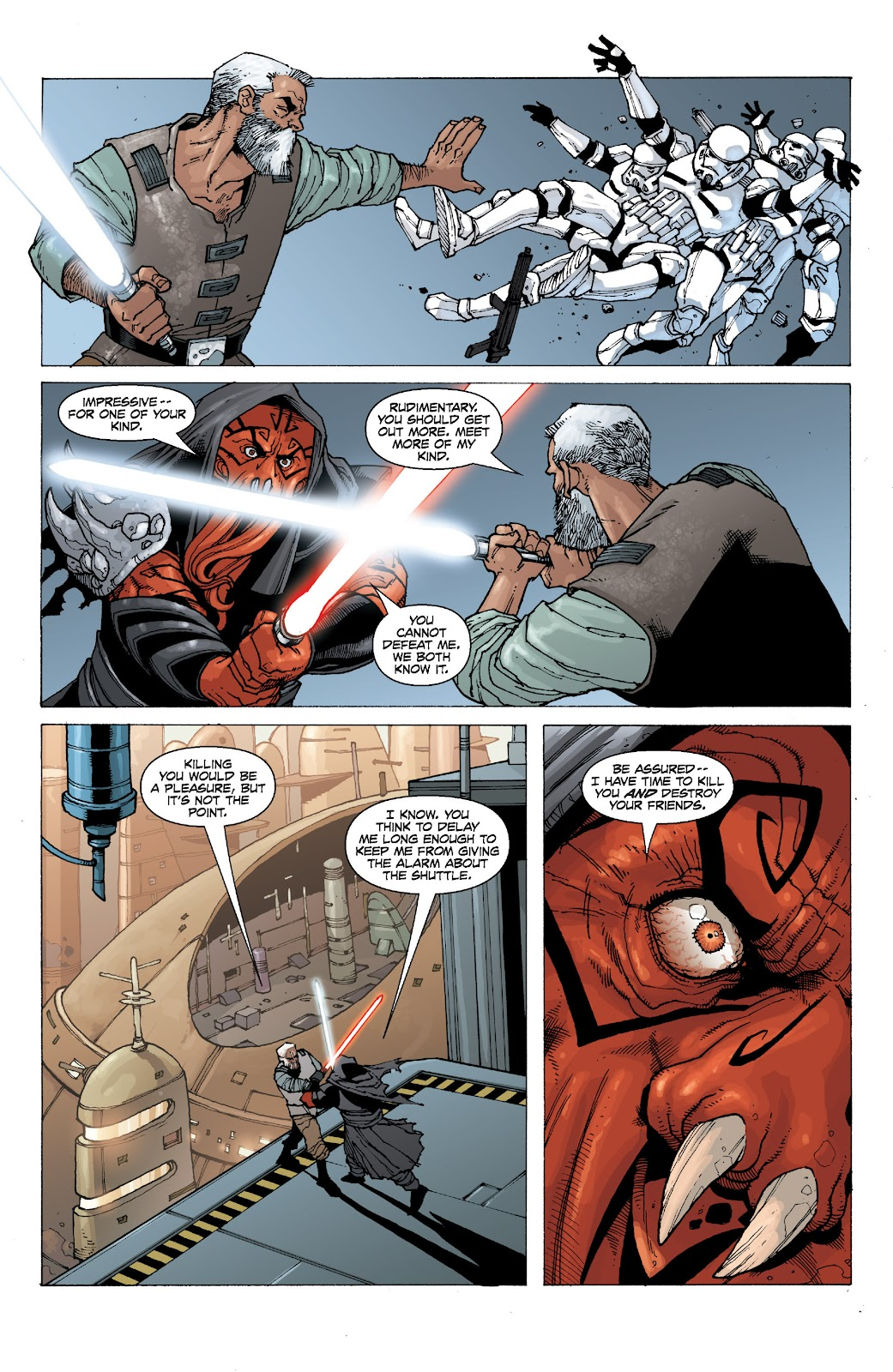 Read online Star Wars Legends: Legacy - Epic Collection comic -  Issue # TPB 2 (Part 1) - 95